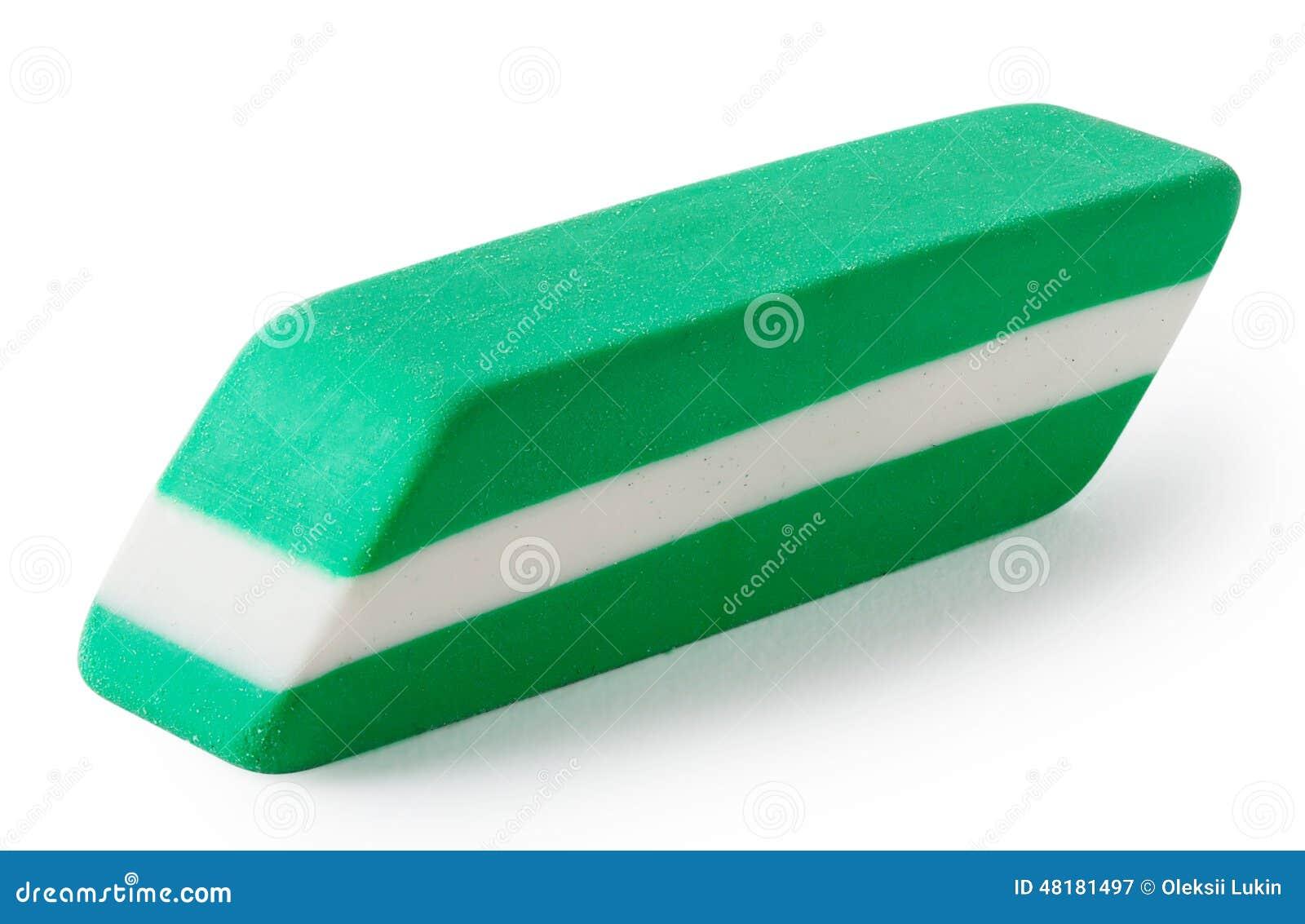 Πράσινος με την άσπρη γόμα