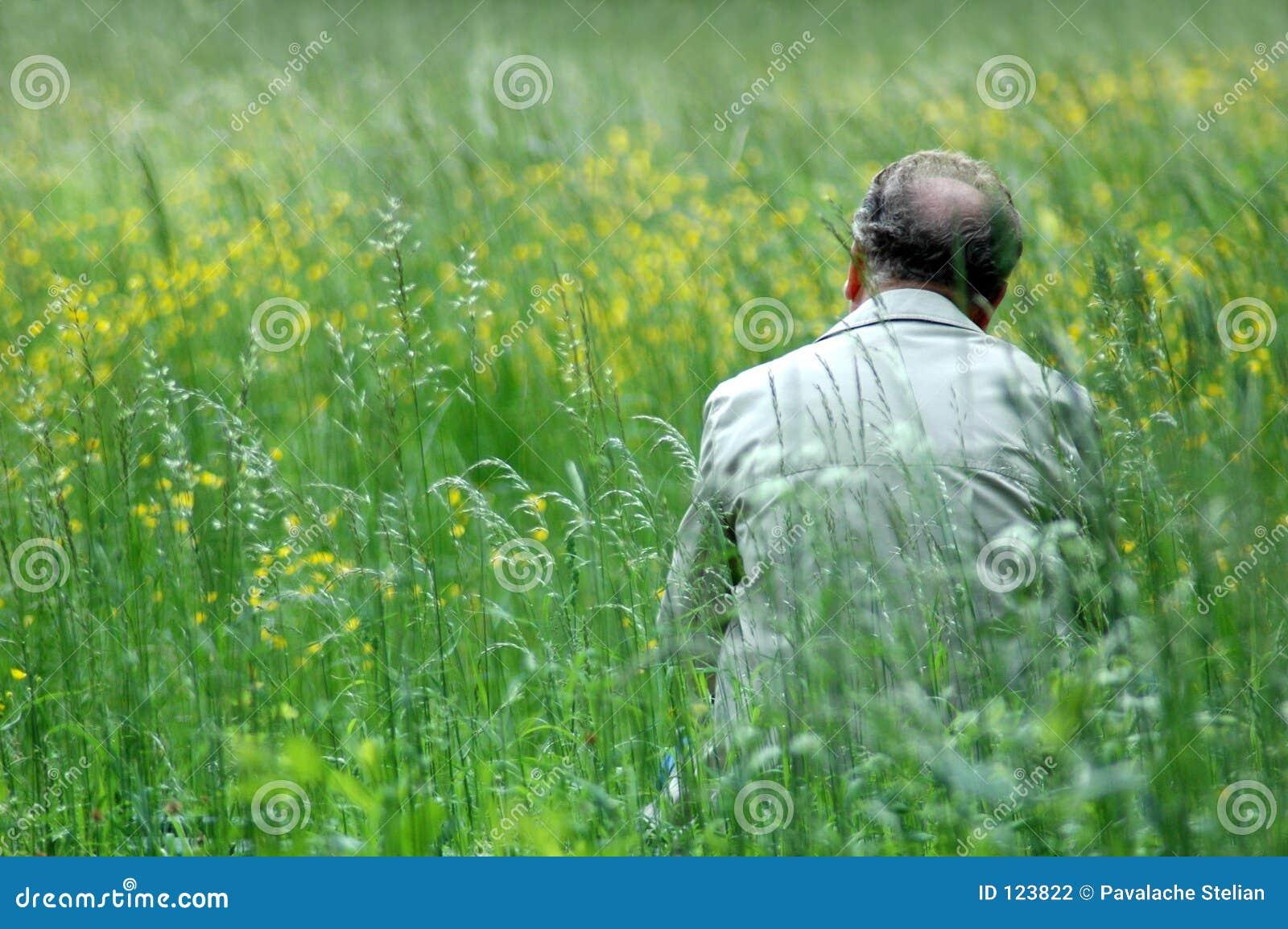 πράσινο άτομο πεδίων