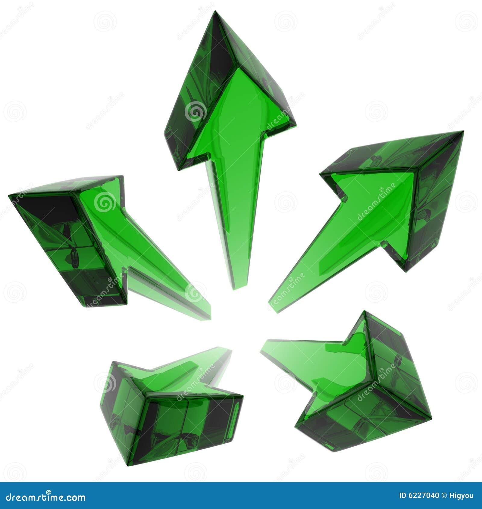πράσινο αστέρι γυαλιού β&epsilo