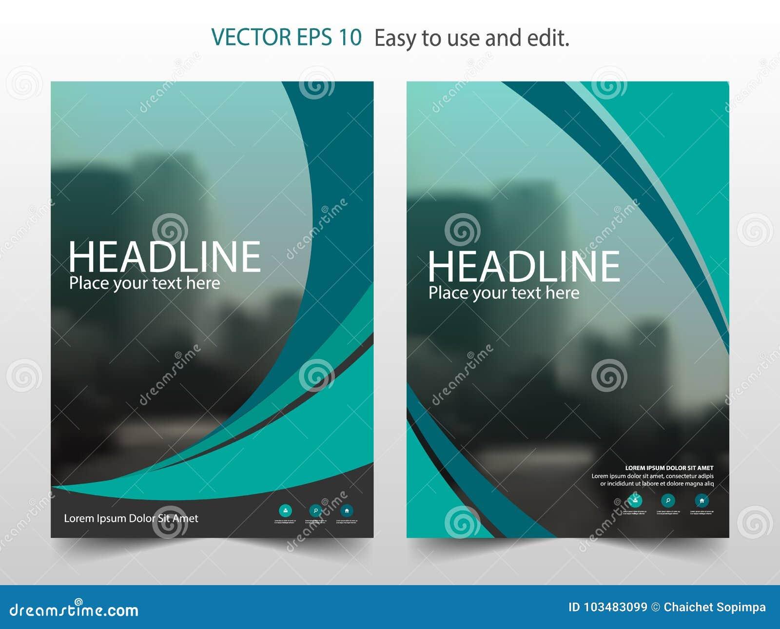 Πράσινο αφηρημένο διάνυσμα προτύπων σχεδίου ετήσια εκθέσεων φυλλάδιων Infographic αφίσα περιοδικών επιχειρησιακών ιπτάμενων αφηρη