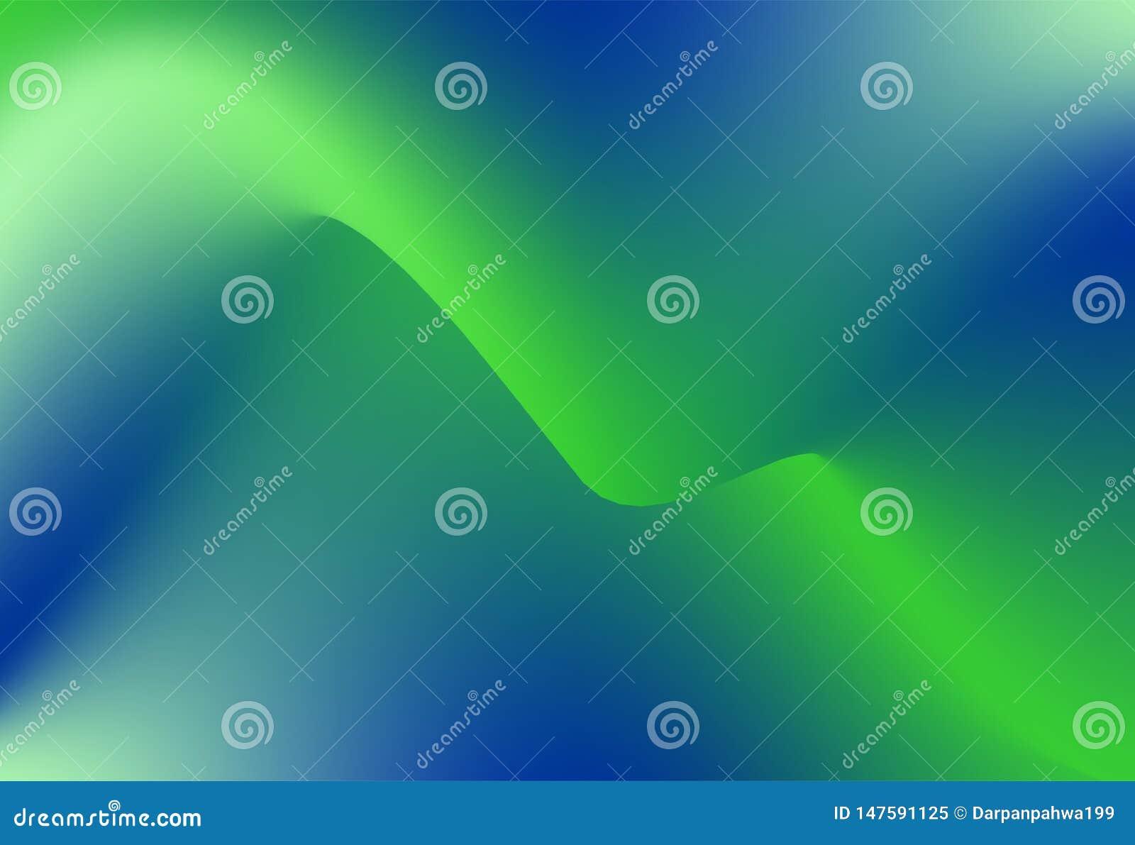 Πράσινο και μπλε κυματιστό διάνυσμα κινήσεων, περίληψη wallpaper&background