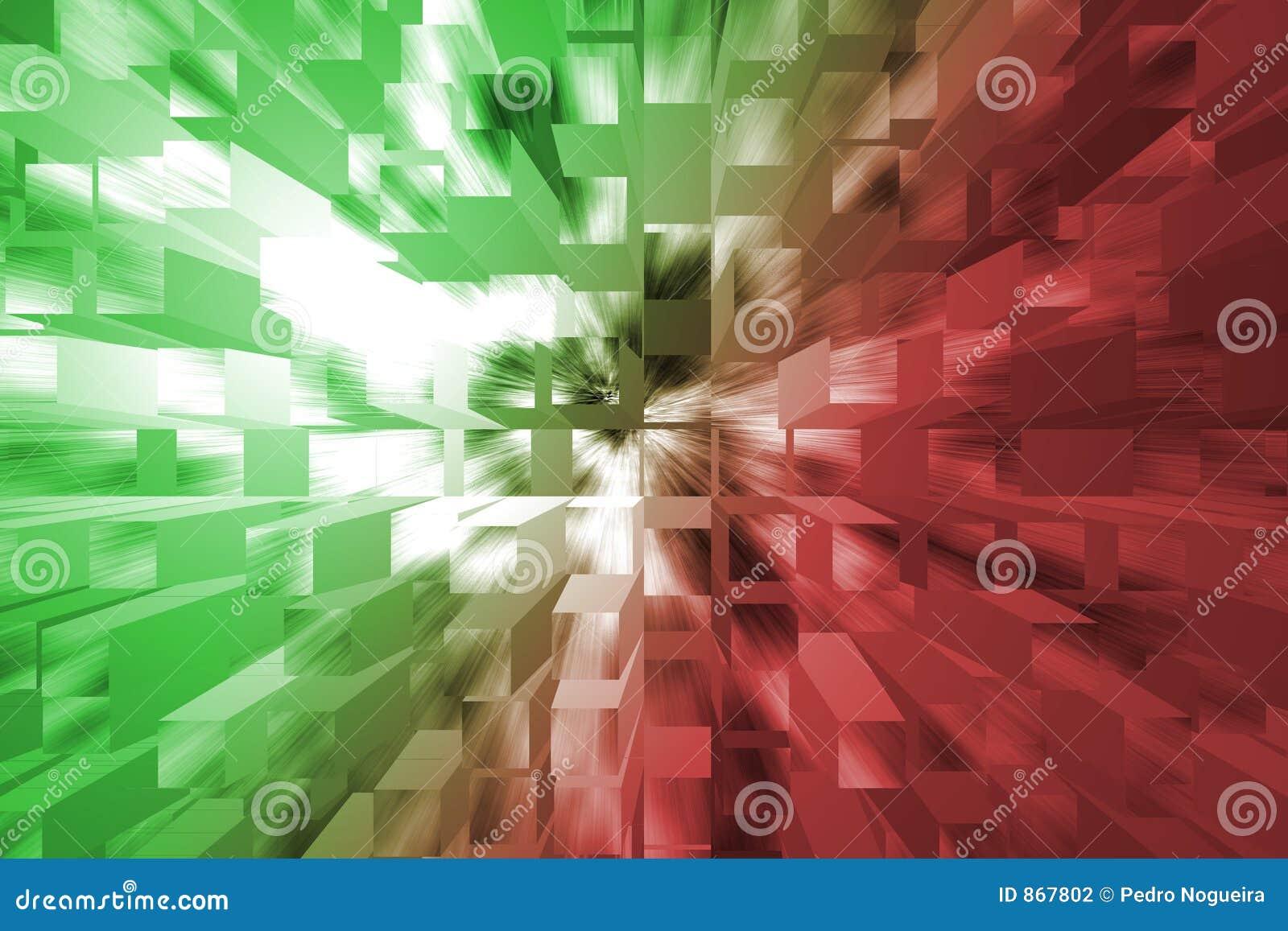 πράσινο κόκκινο ανασκόπησ&e