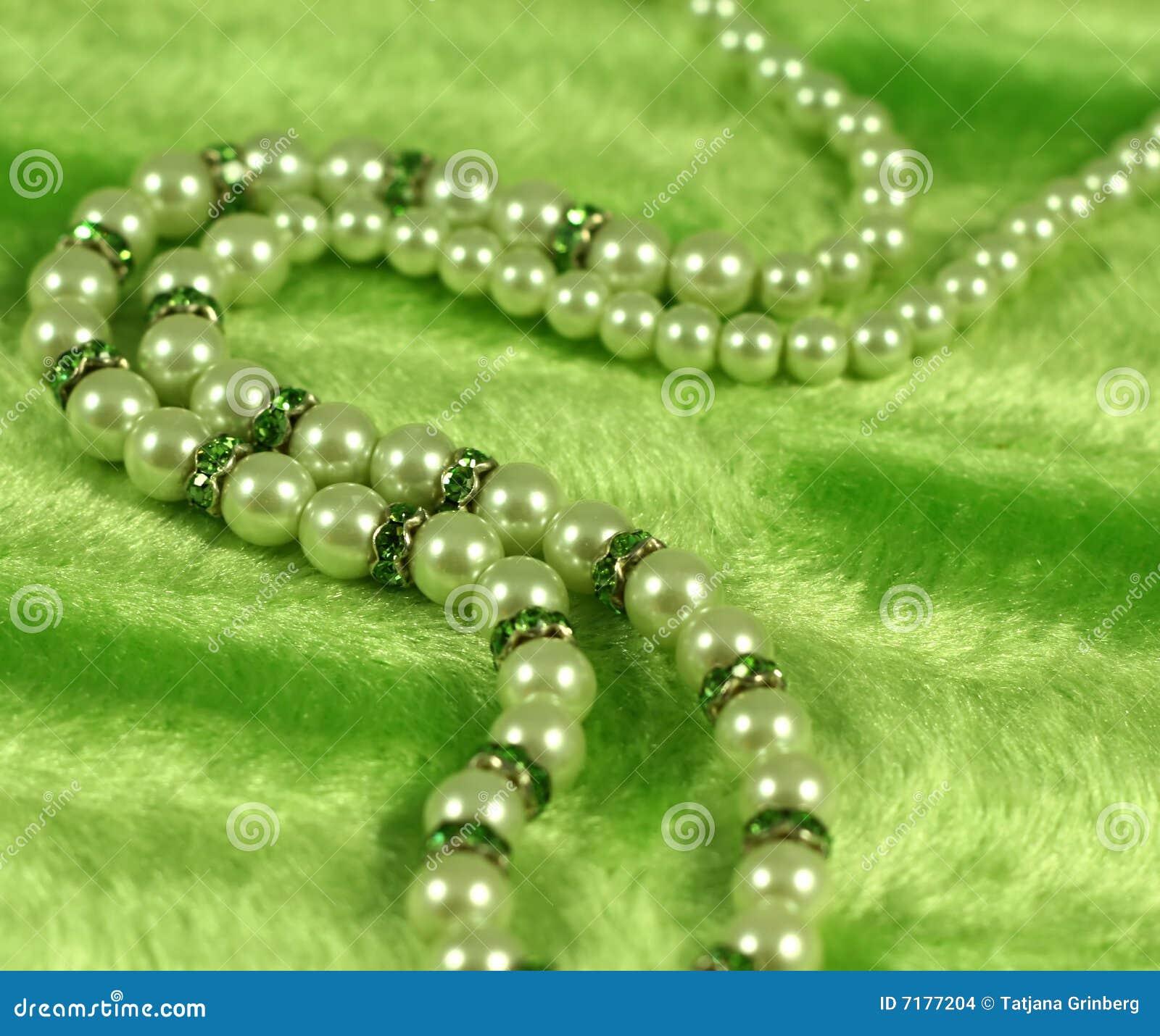 πράσινο περιδέραιο ανασκόπησης