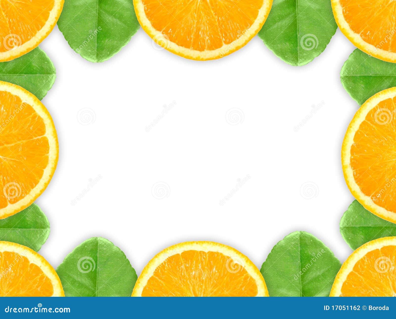 πράσινο πορτοκάλι φύλλων &kap