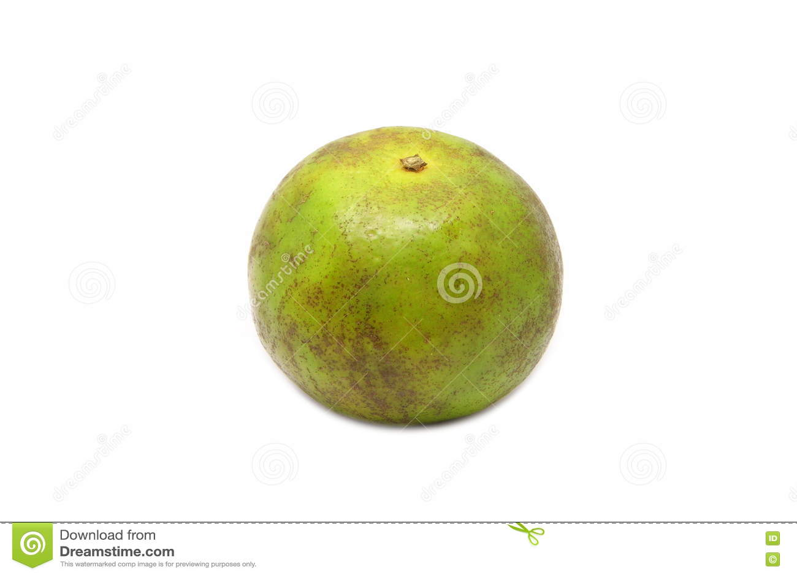 Πράσινο πορτοκάλι