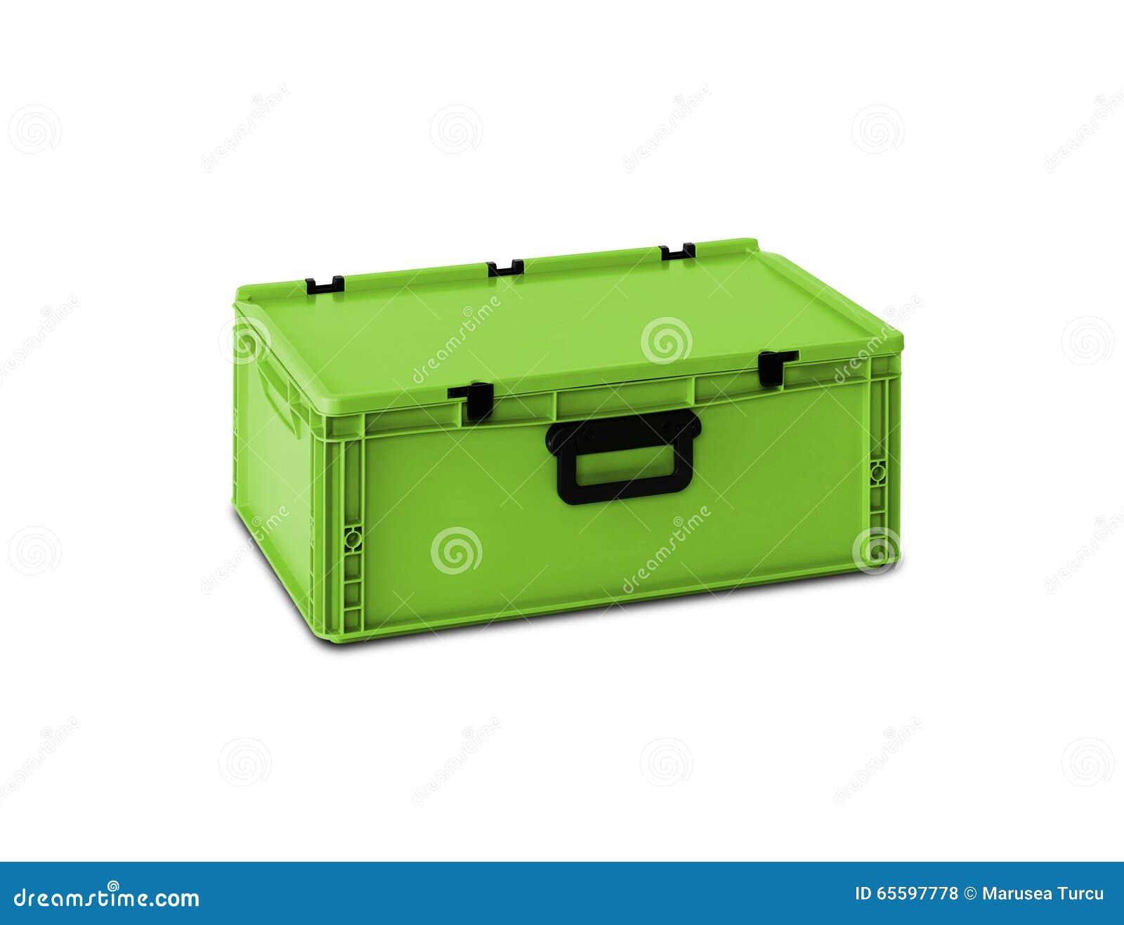 Πράσινο πλαστικό κιβώτιο
