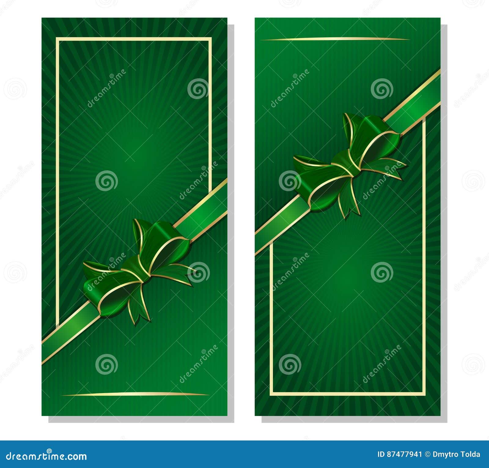 Πράσινο υπόβαθρο με την κορδέλλα και τόξο για την ημέρα του ST Patricks και τα εορταστικά γεγονότα