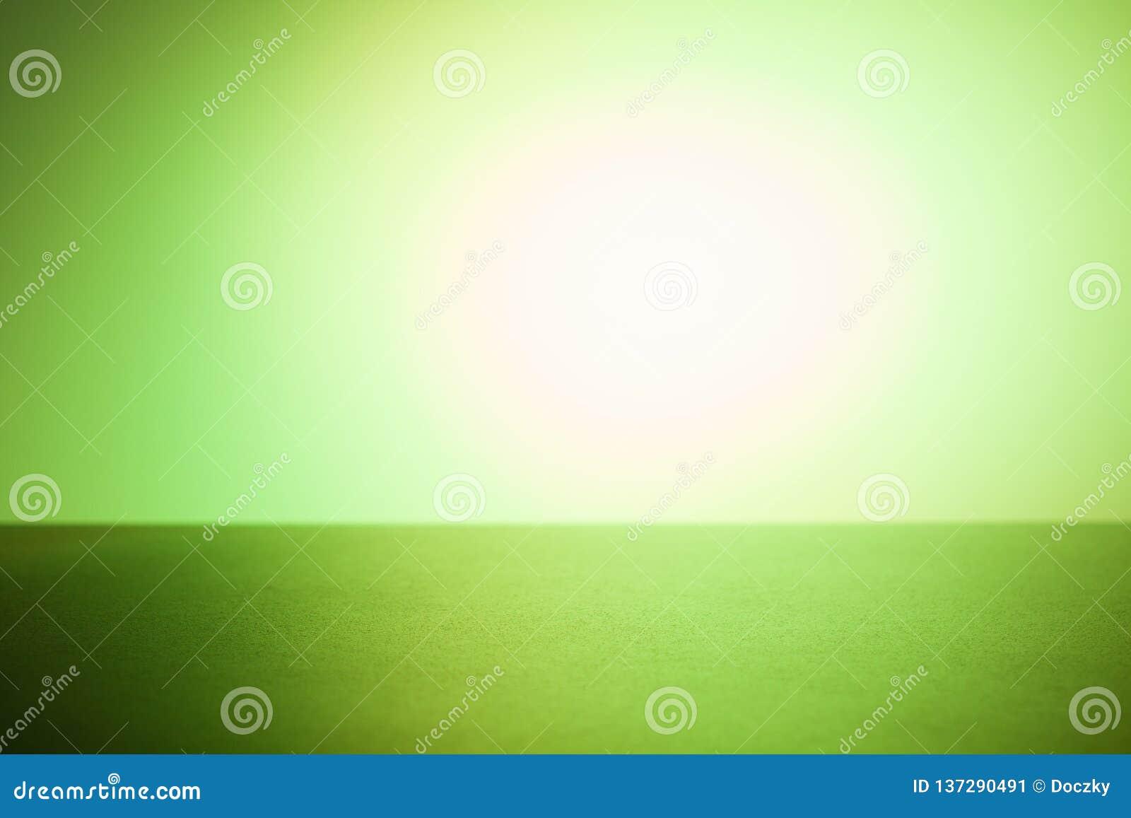 Πράσινο υπόβαθρο τοποθέτησης προϊόντων