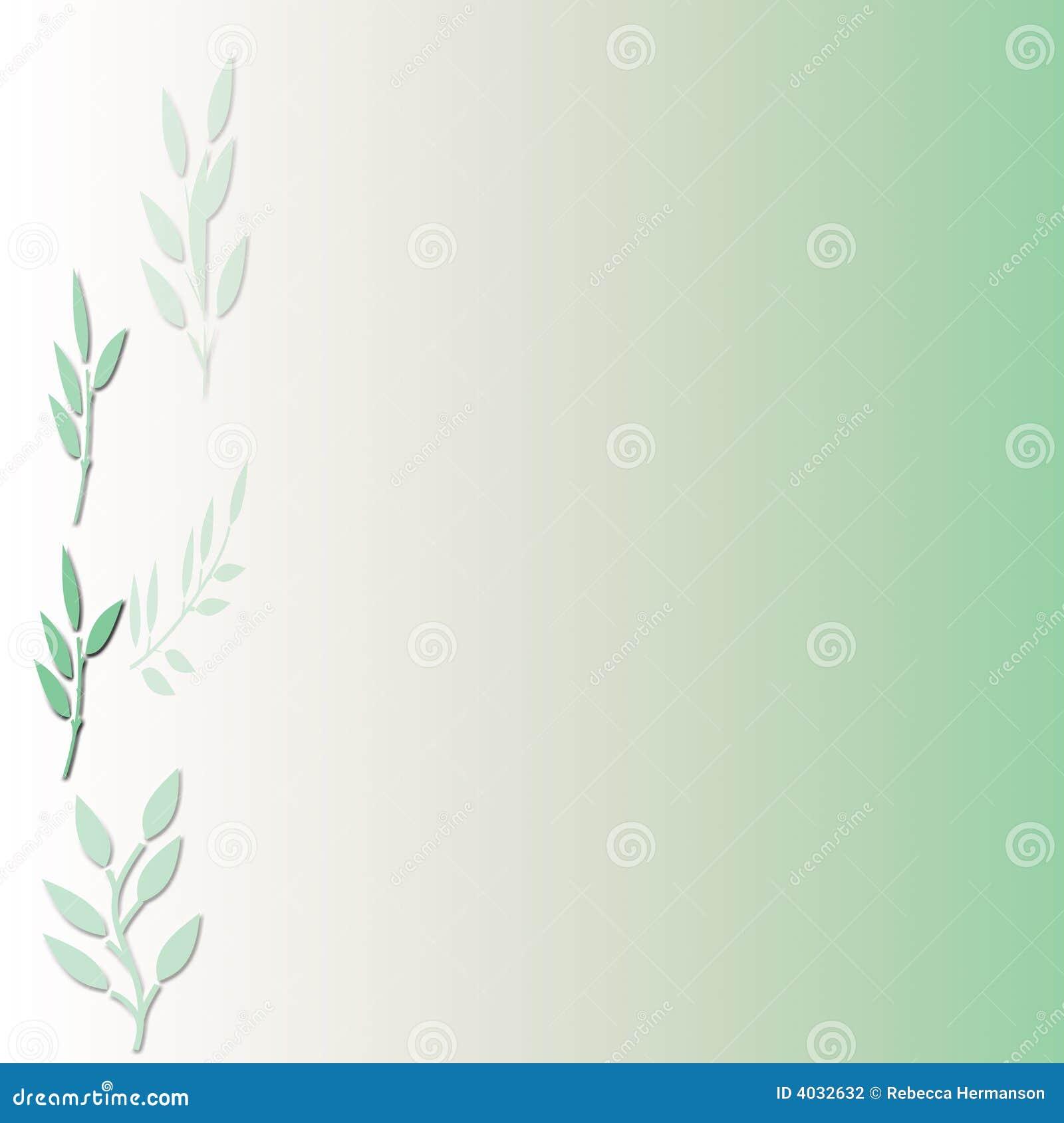 πράσινο φύλλο ανασκόπηση&sigmaf