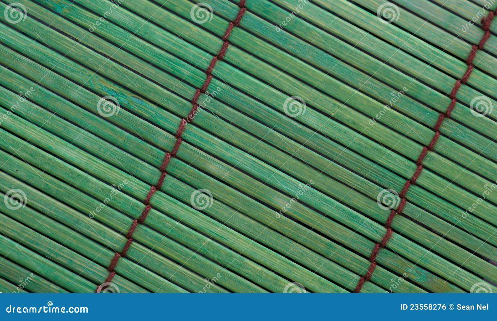 πράσινο placemat μπαμπού