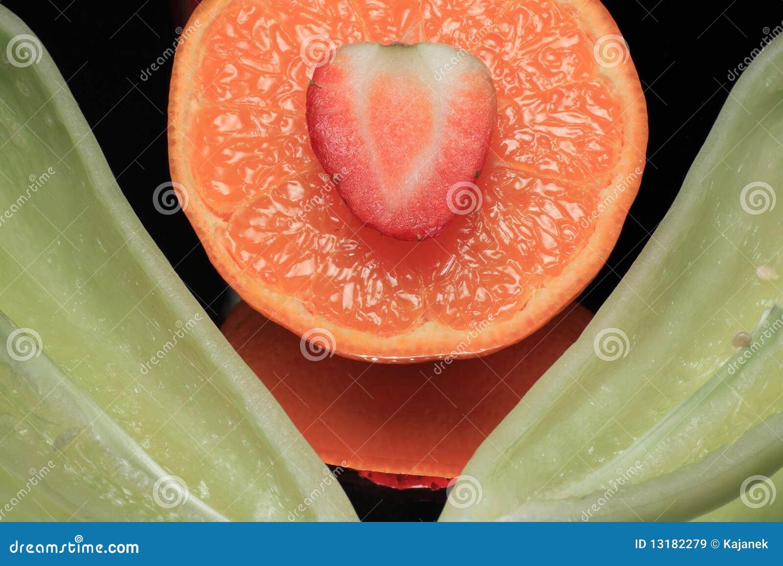 πράσινο tangerine πιπεριών ζωής ακόμ&