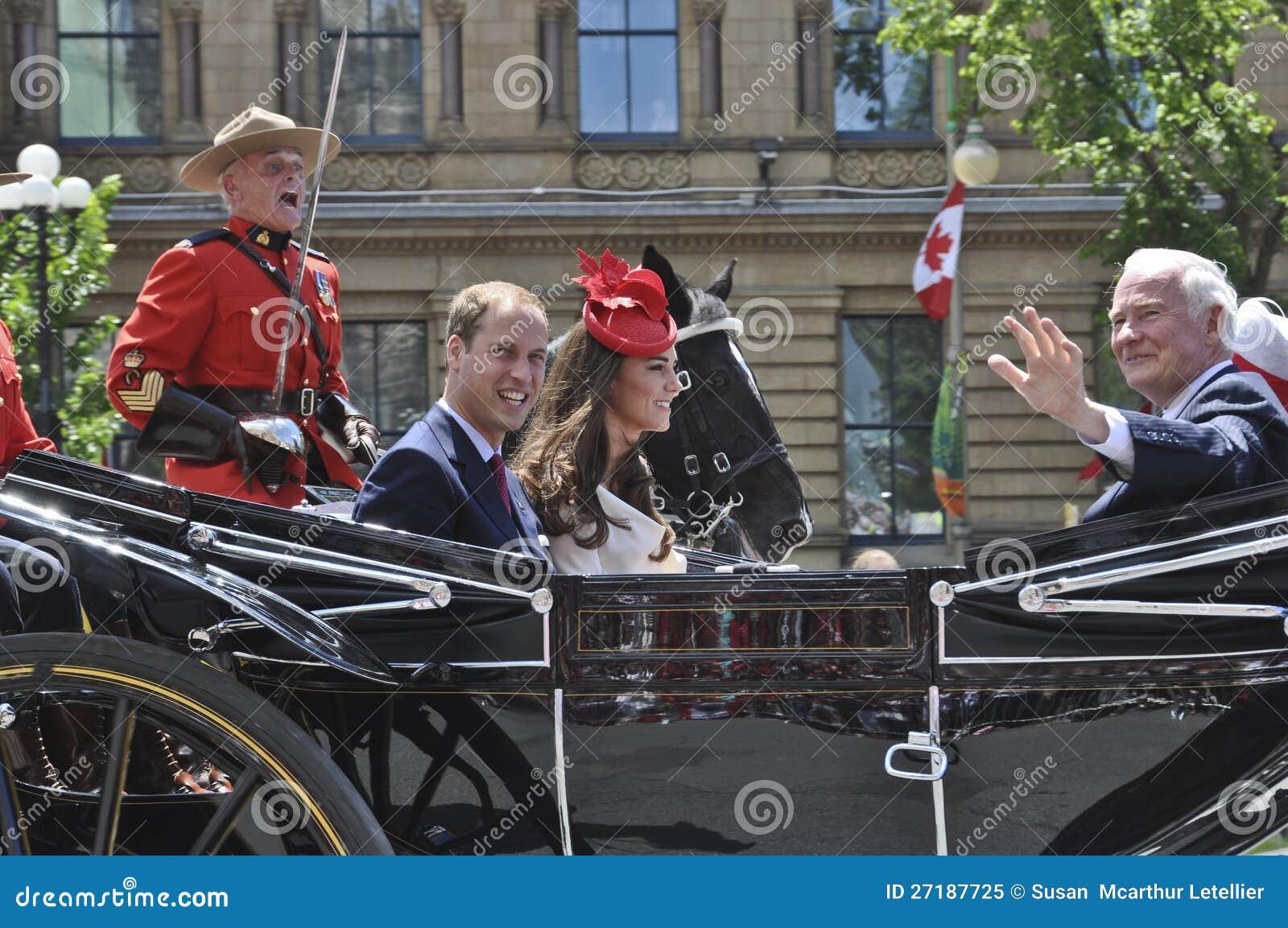 Πρίγκηπας William και Kate, ημέρα του Καναδά