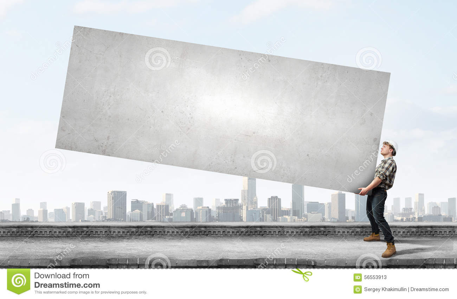 Download Πραγματική εργασία ατόμων στοκ εικόνα. εικόνα από κράνος - 56553913
