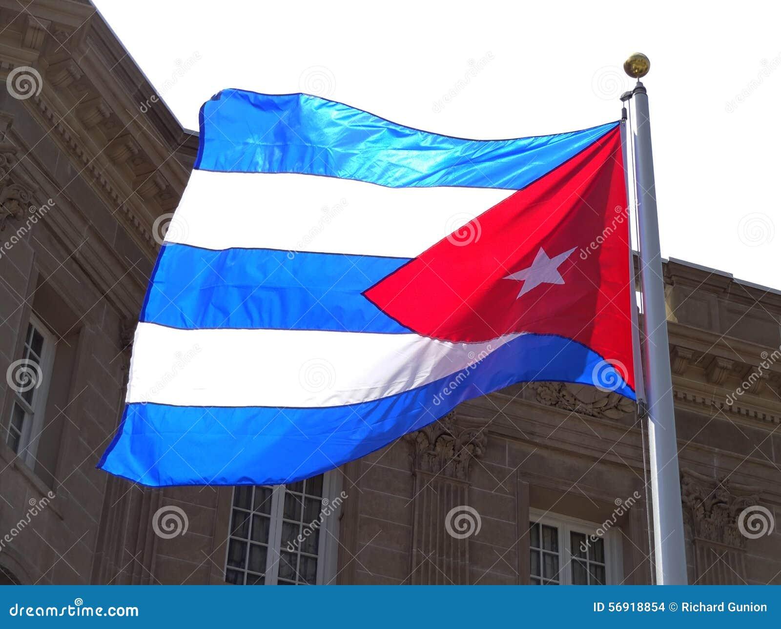 Πρεσβεία της σημαίας της Κούβας