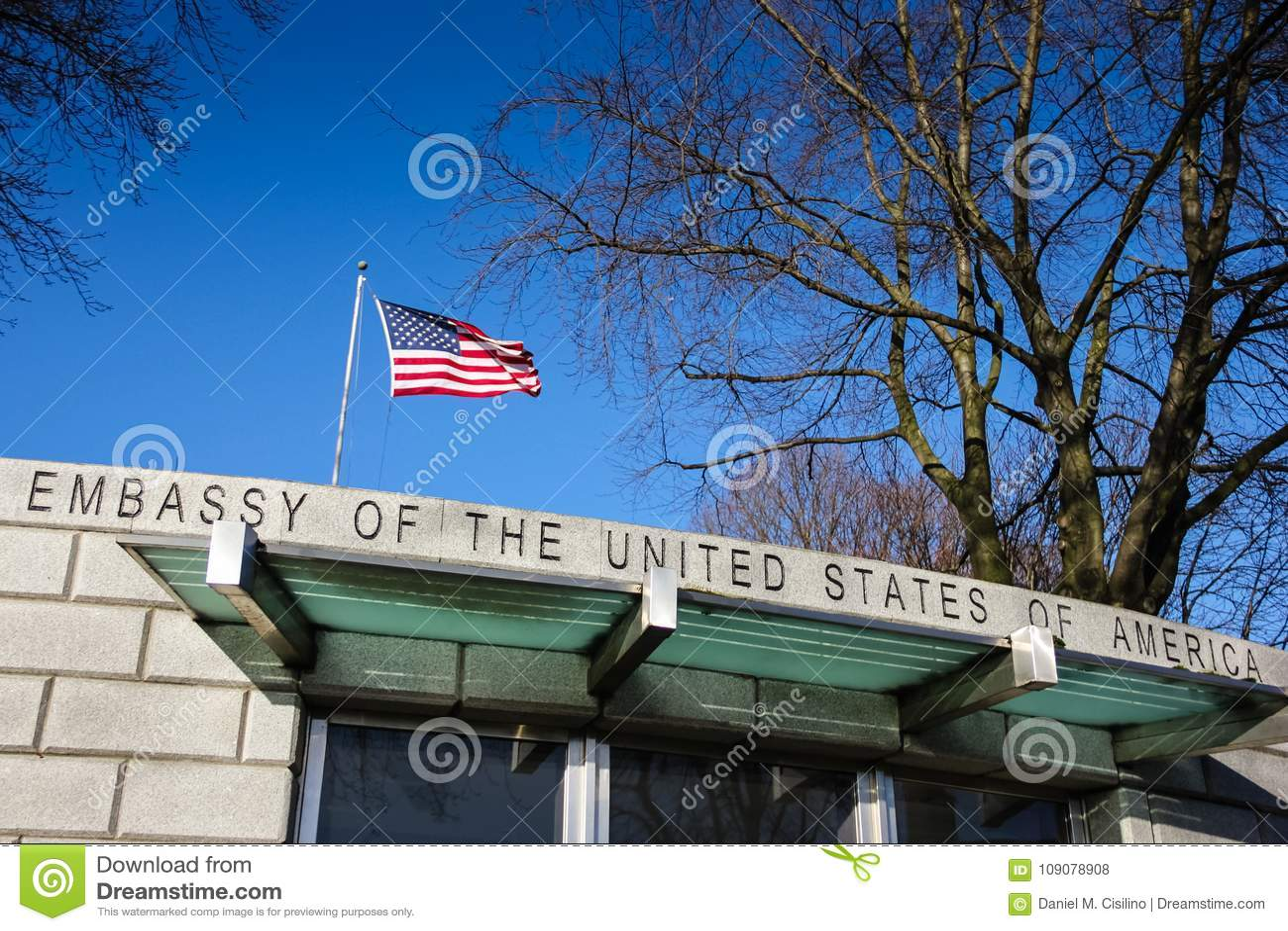 Πρεσβεία των Ηνωμένων Πολιτειών Δουβλίνο Ιρλανδία
