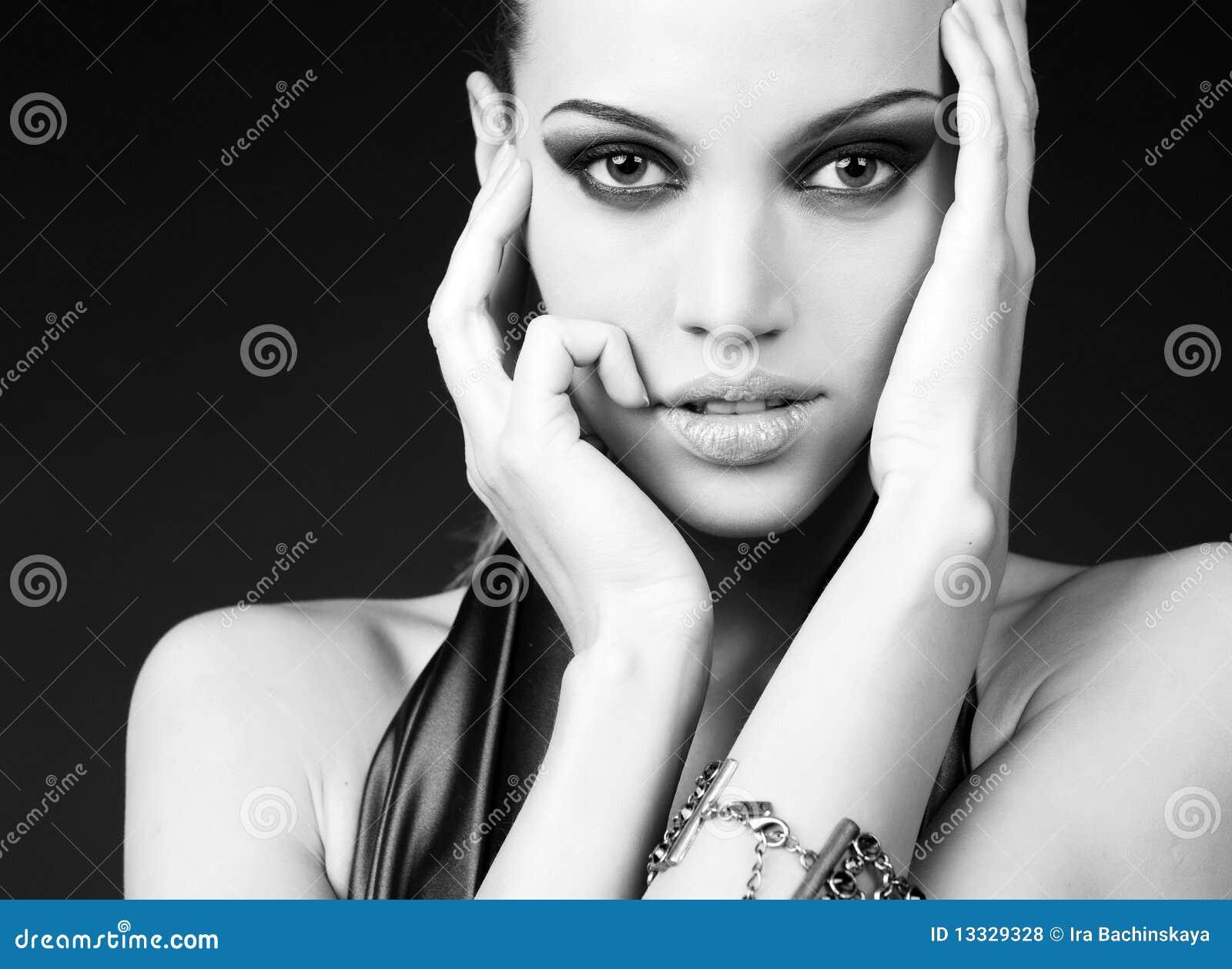 προκλητική γυναίκα πορτρέ