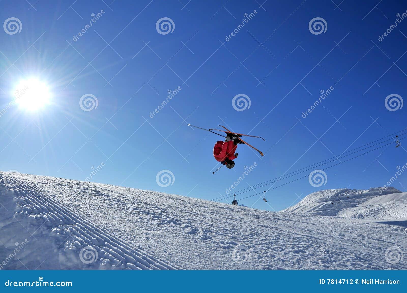 προς τα πίσω να κάνει σκι ήλ