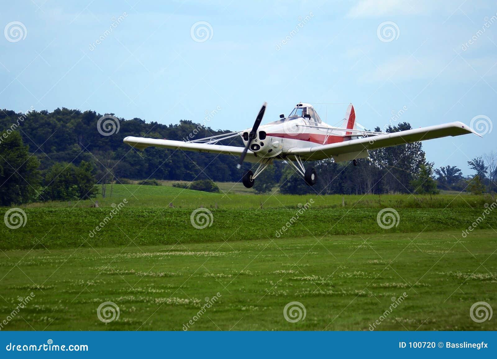 προσγειωμένος αεροπλάνο