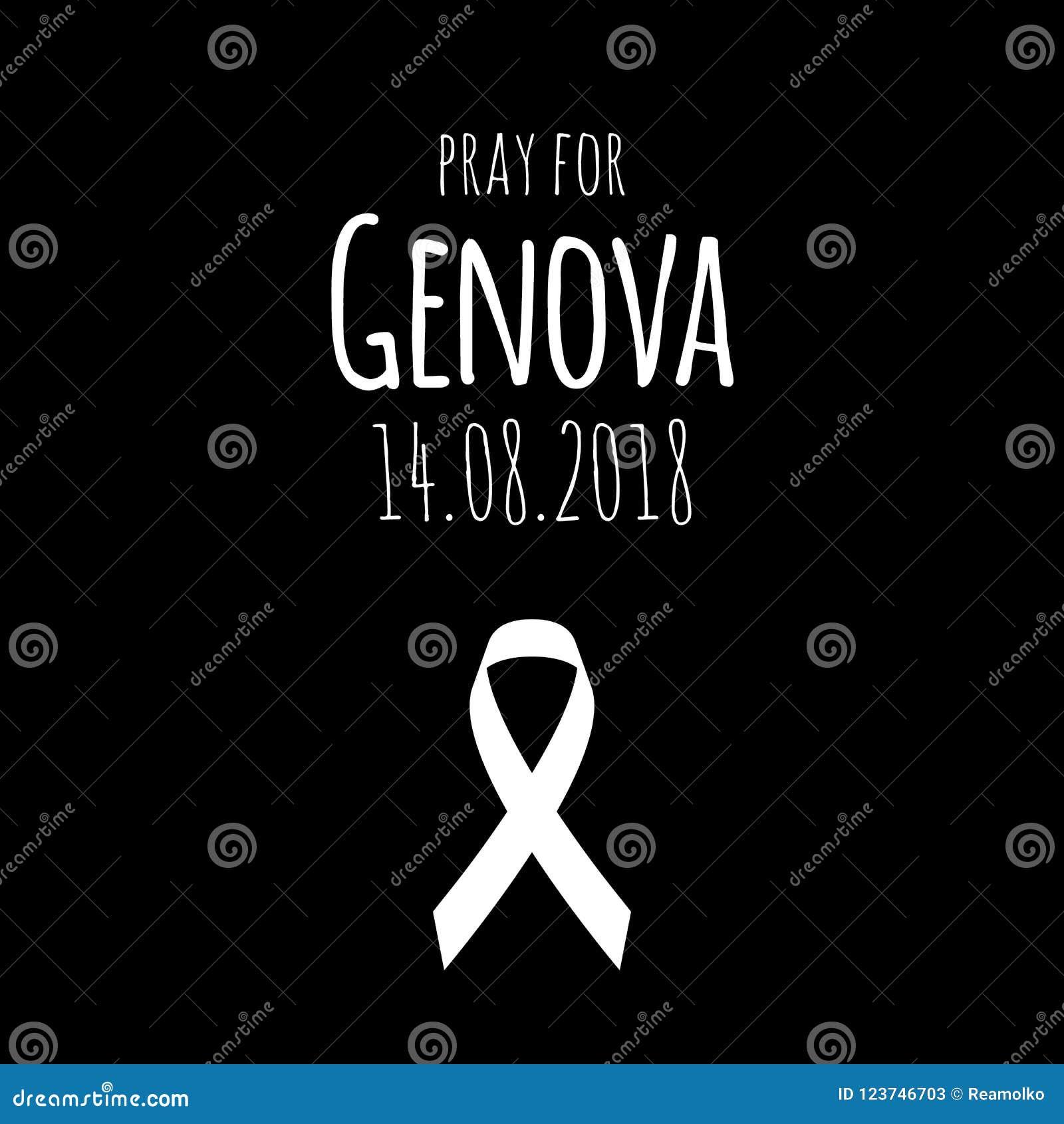 14 08 2018 - Προσεηθείτε για Γένοβα Γέφυρα που καταρρέουν στα ιταλικά πόλη
