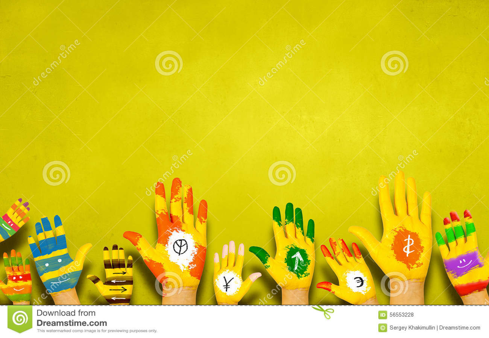Download Προσθέστε το χρώμα στη ζωή στοκ εικόνες. εικόνα από χέρι - 56553228
