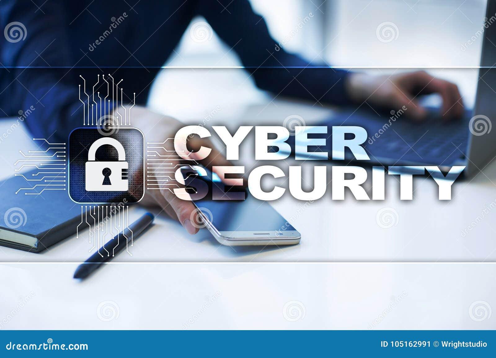 Προστασία Cyber, προστασία δεδομένων, ασφάλεια πληροφοριών και κρυπτογράφηση