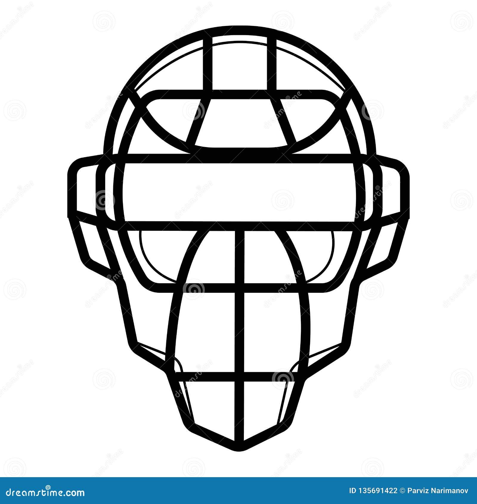 Προστατευτική μάσκα για το μπέιζ-μπώλ