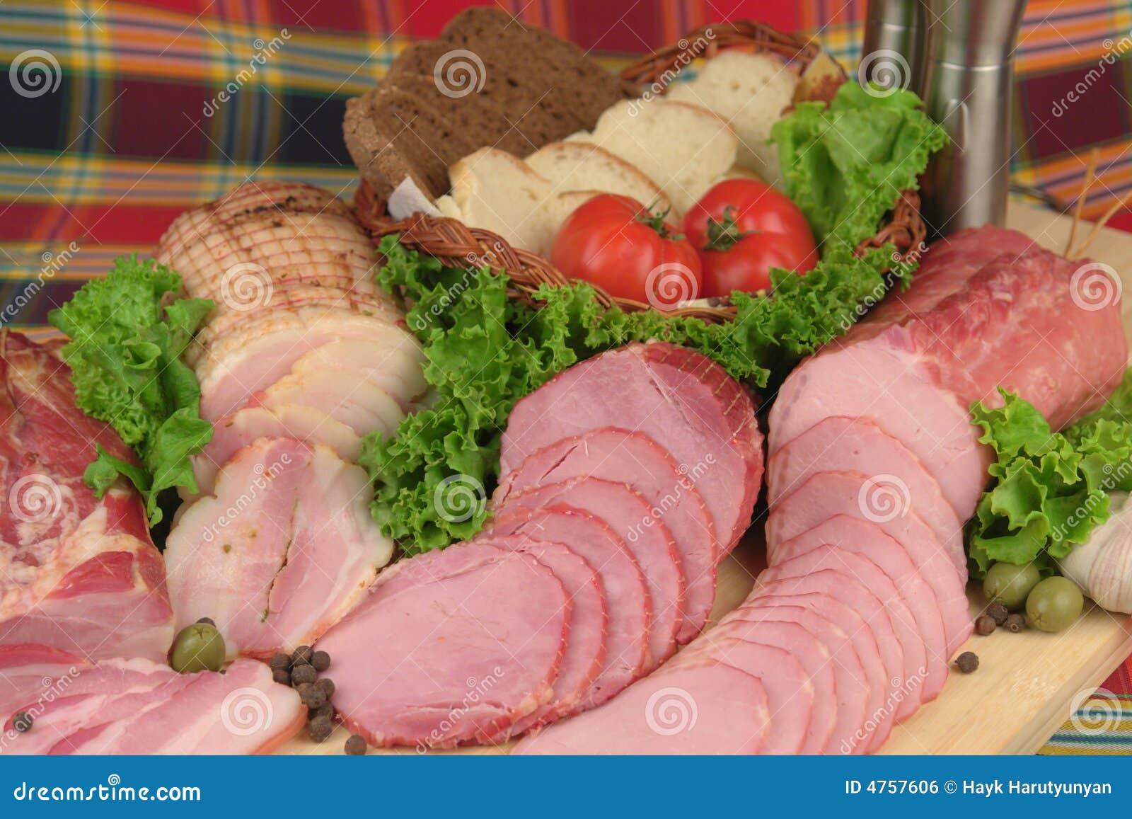 προϊόντα κρέατος που καπνί&zet