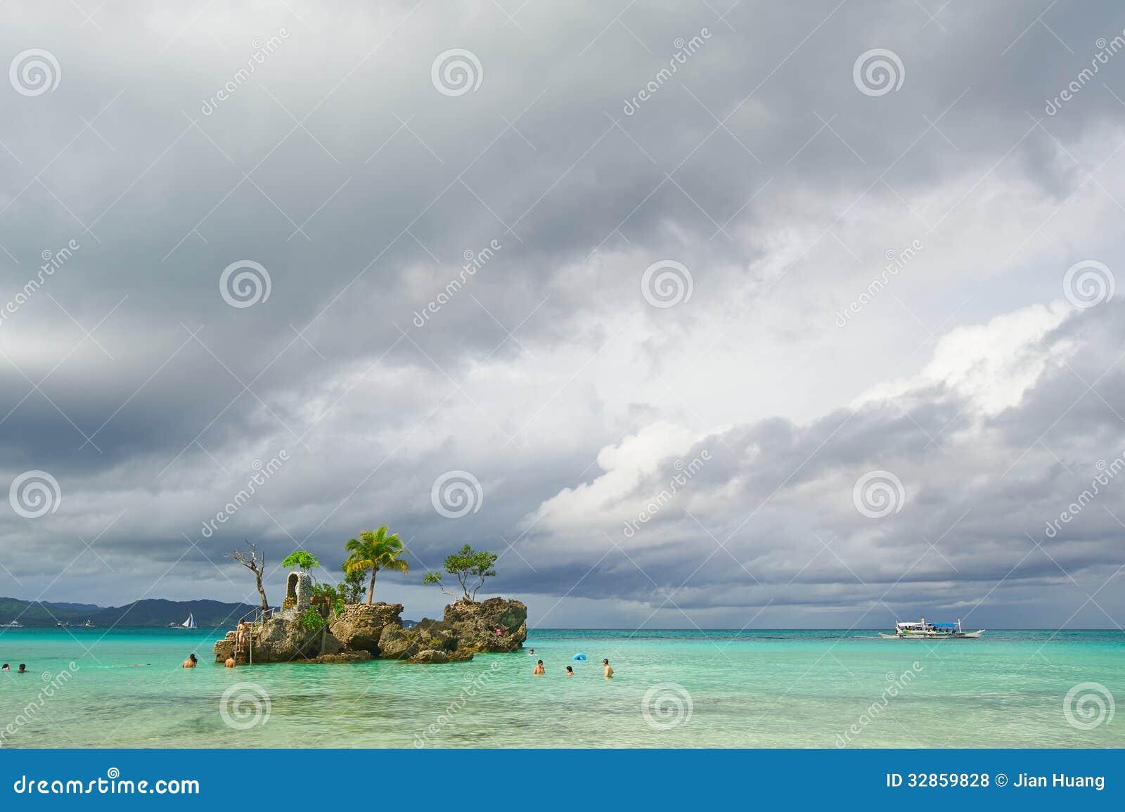 Πρωί στο νησί Boracay