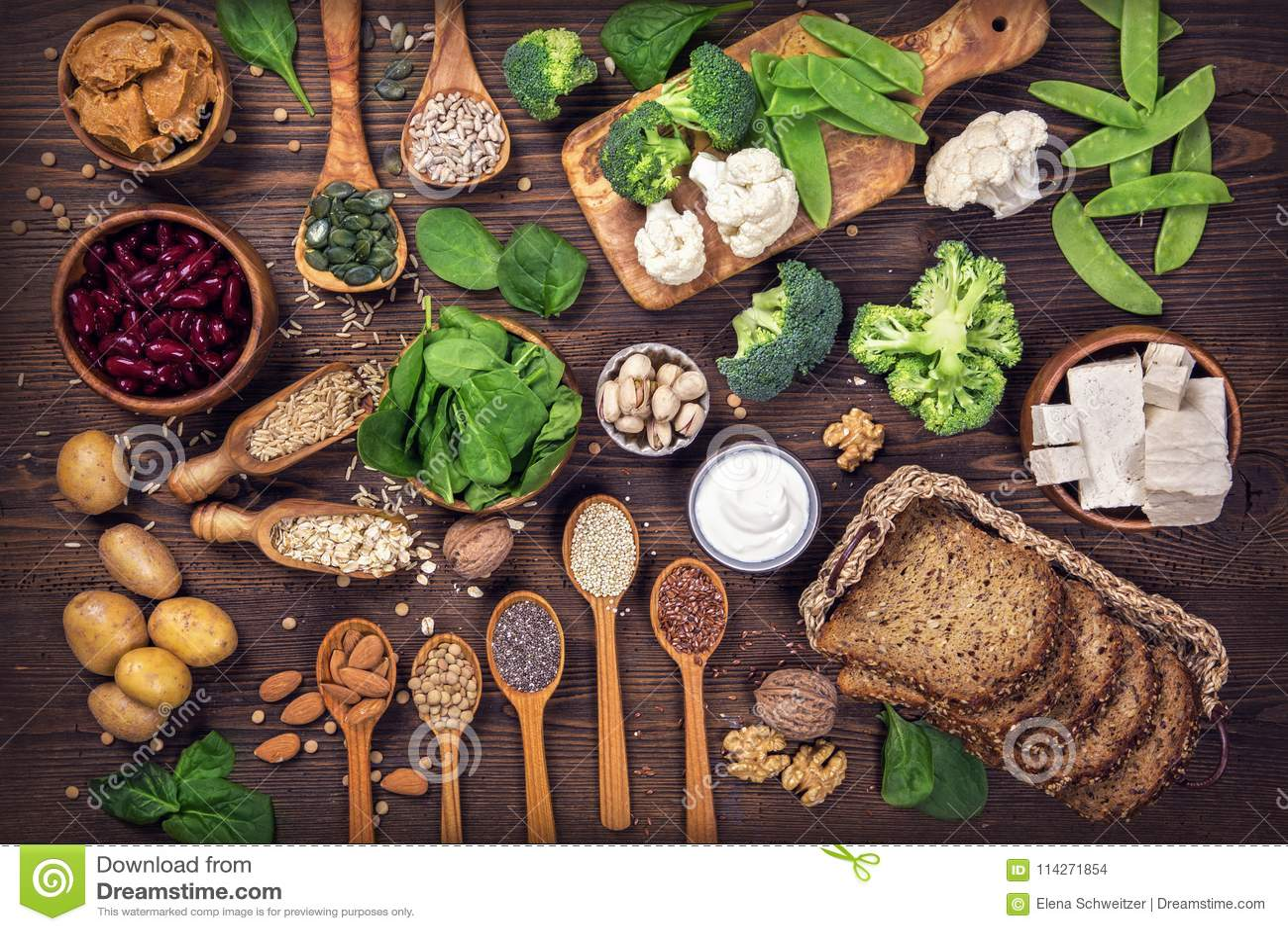 Πρωτεϊνικές πηγές Vegan