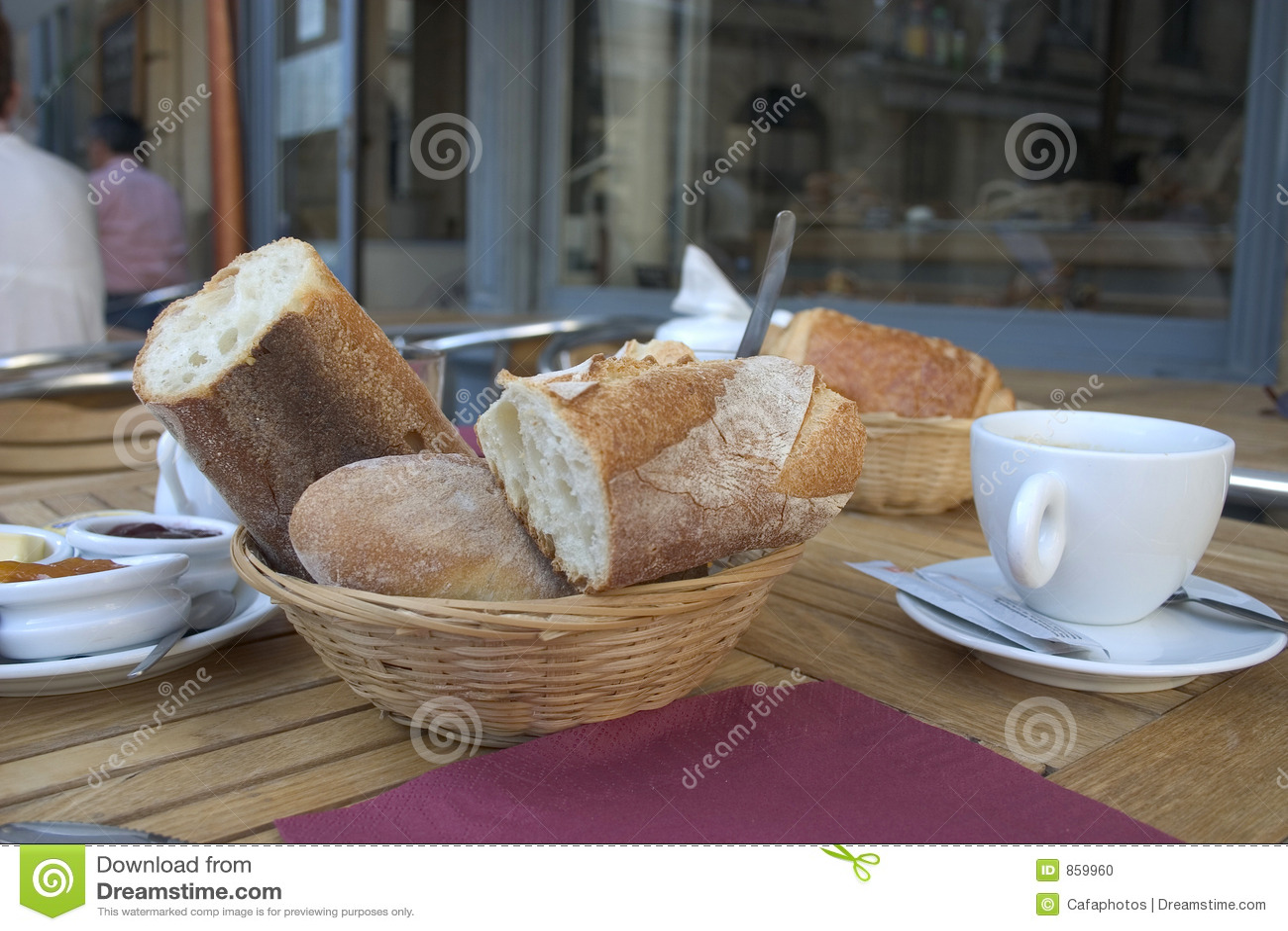 πρόγευμα γαλλικά