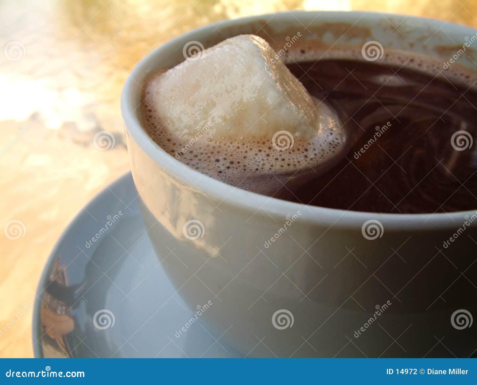 πρόσθετο καυτό marshmallow σοκολ