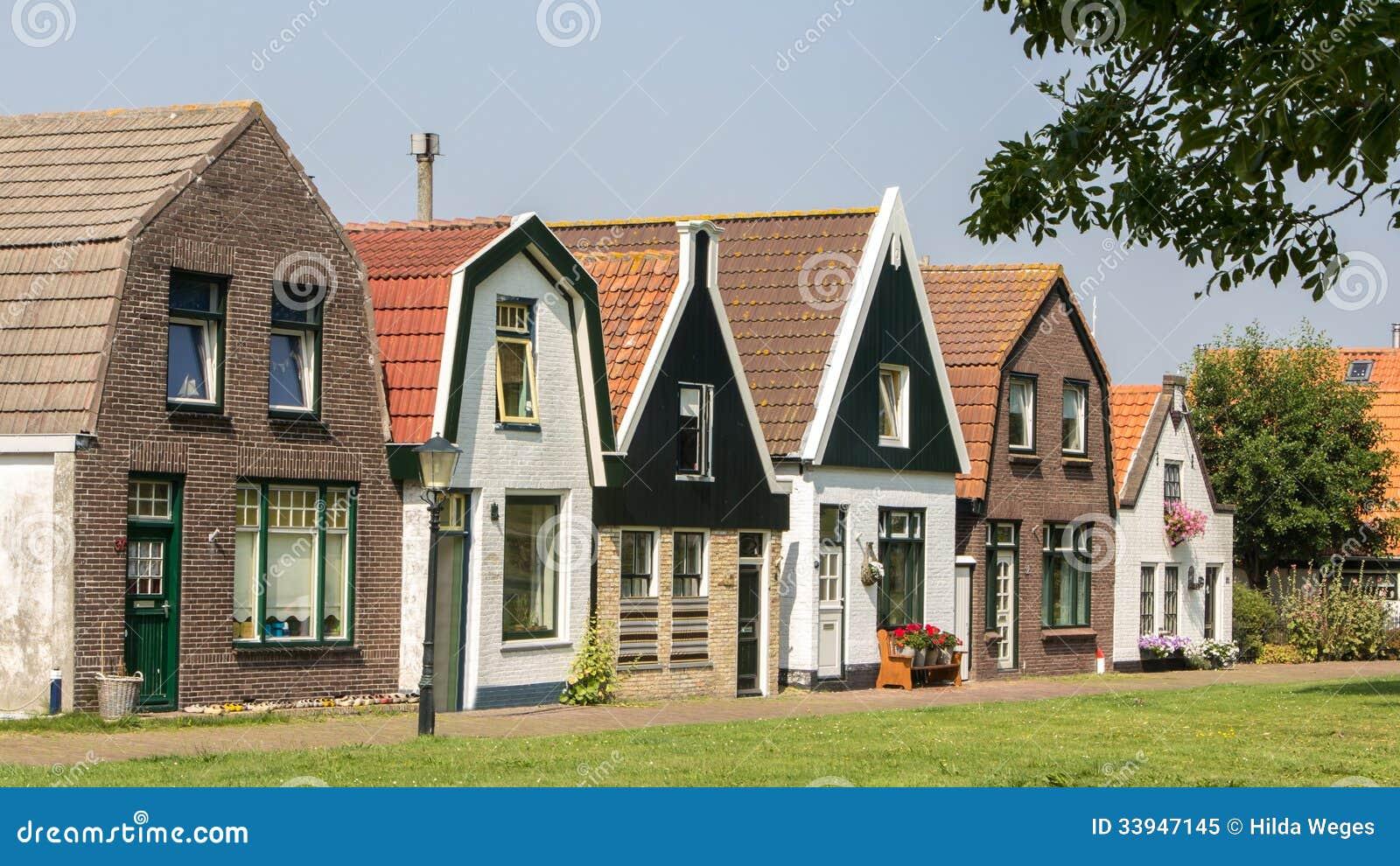 Πρόσοψη μιας παλαιάς ολλανδικής οδού