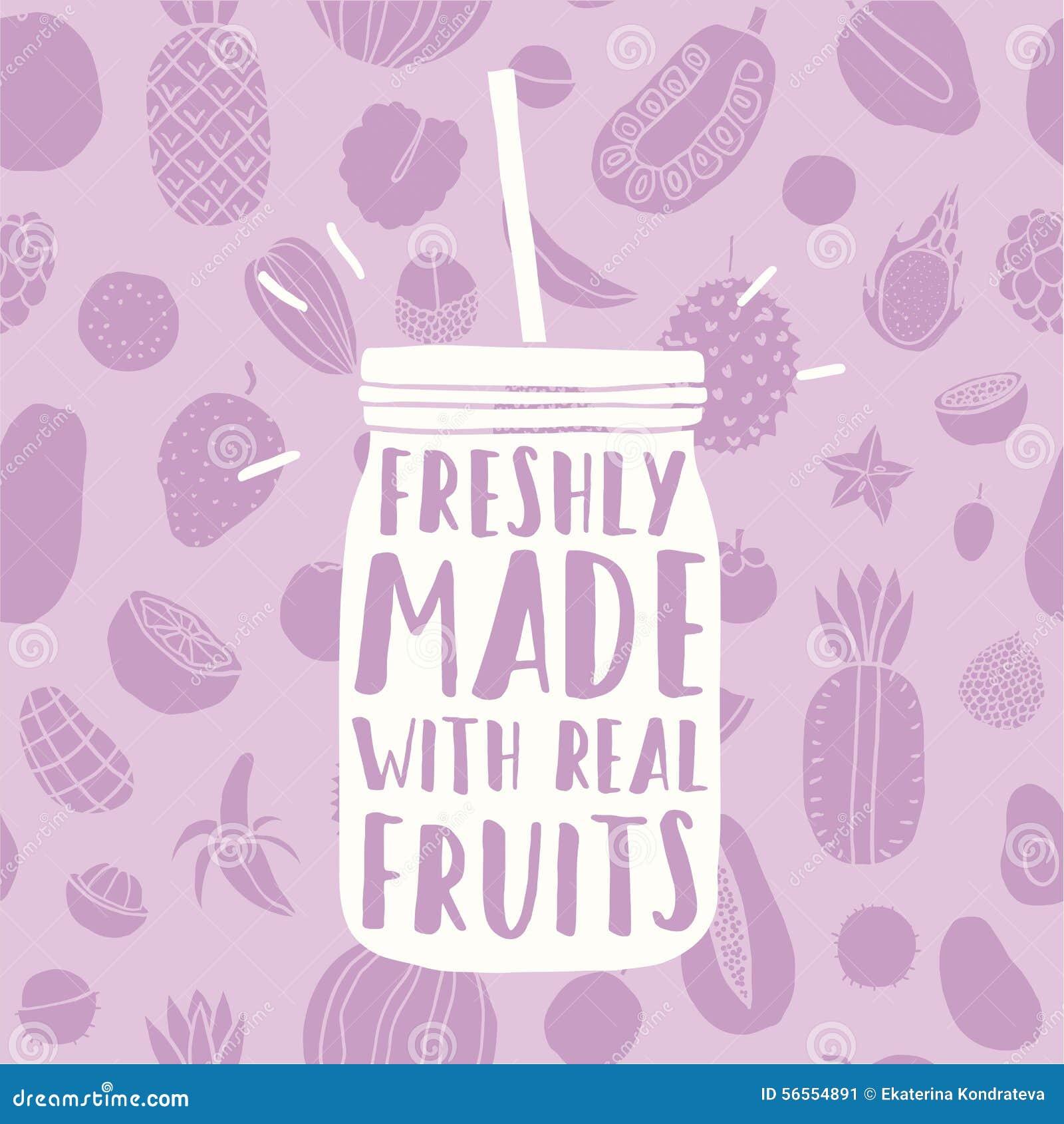 Download Πρόσφατα γίνοντας με τα πραγματικά φρούτα Συρμένο χέρι βάζο και Διανυσματική απεικόνιση - εικονογραφία από μάγκο, απεικόνιση: 56554891