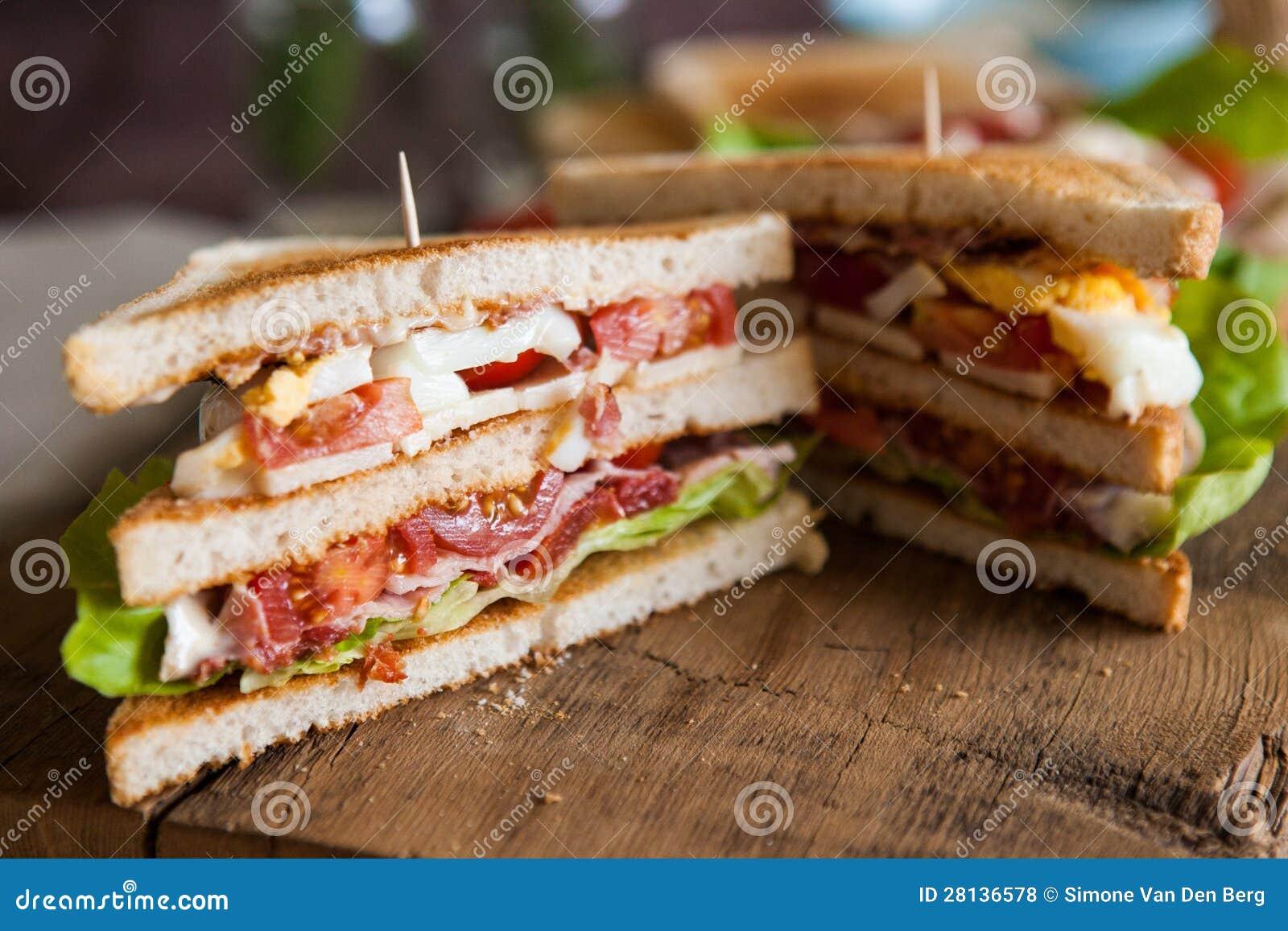 Πρόσφατα γίνοντας clubsandwich