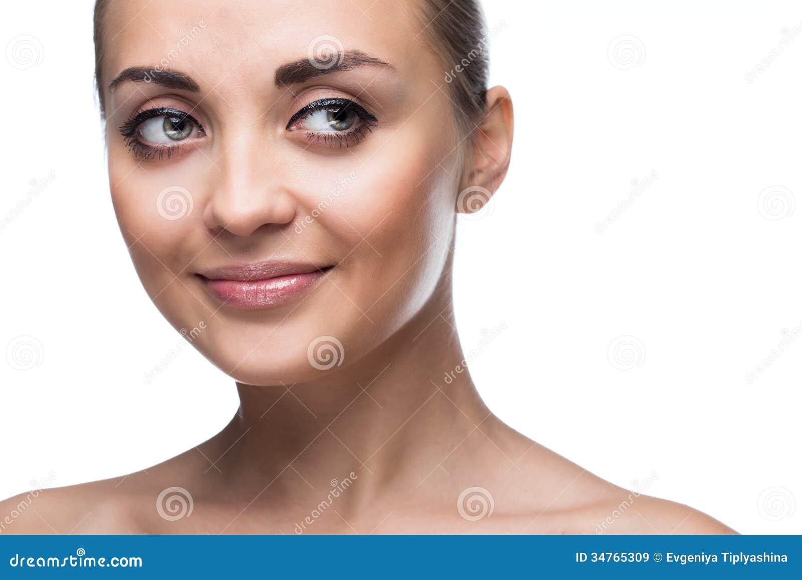 Πρόσωπο γυναικών ομορφιάς