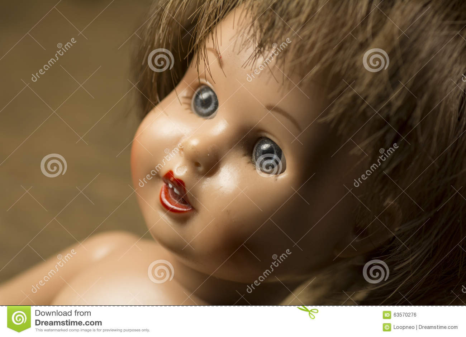 Πρόσωπο μιας κούκλας