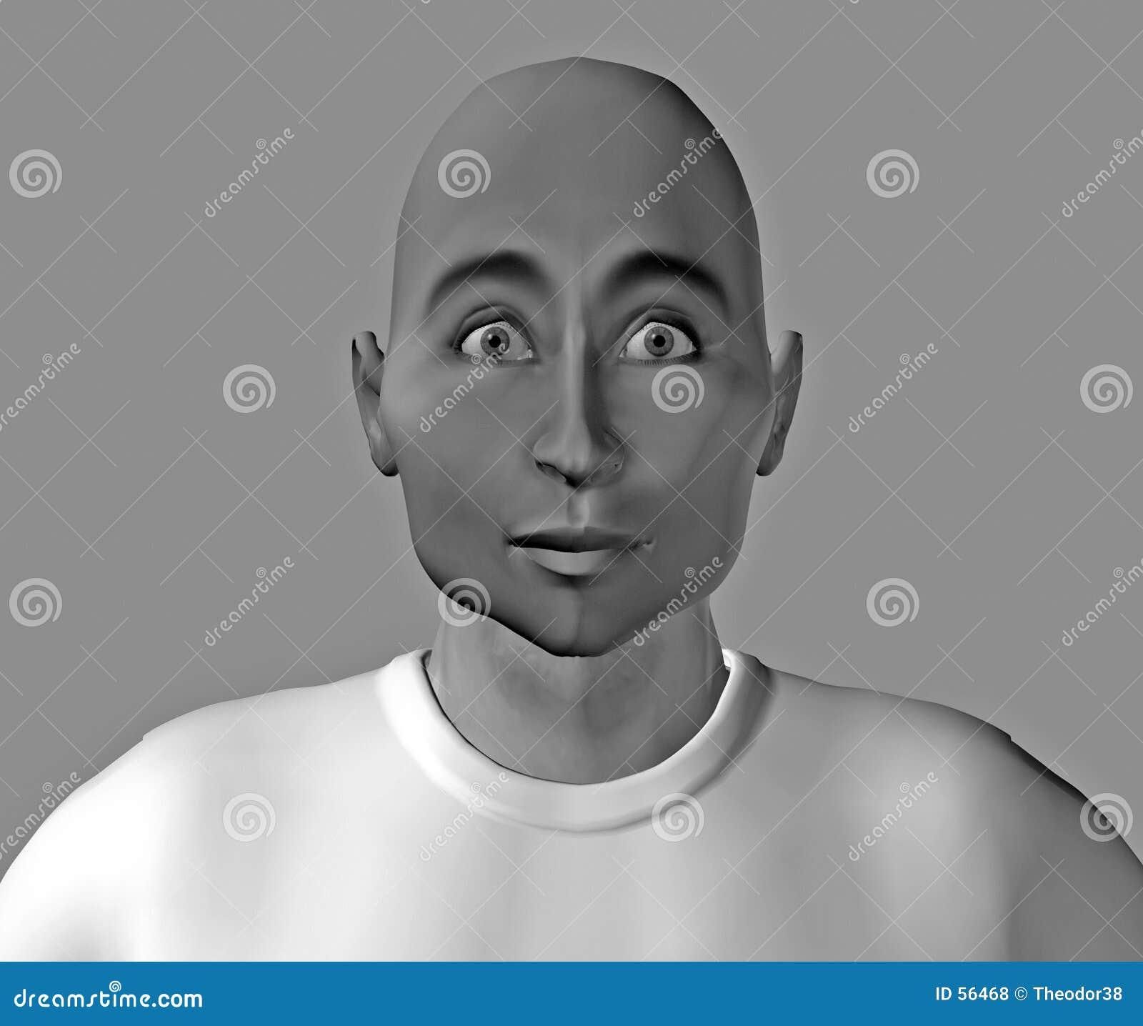 Download πρόσωπο 6 αστείο απεικόνιση αποθεμάτων. εικονογραφία από φίλων - 56468