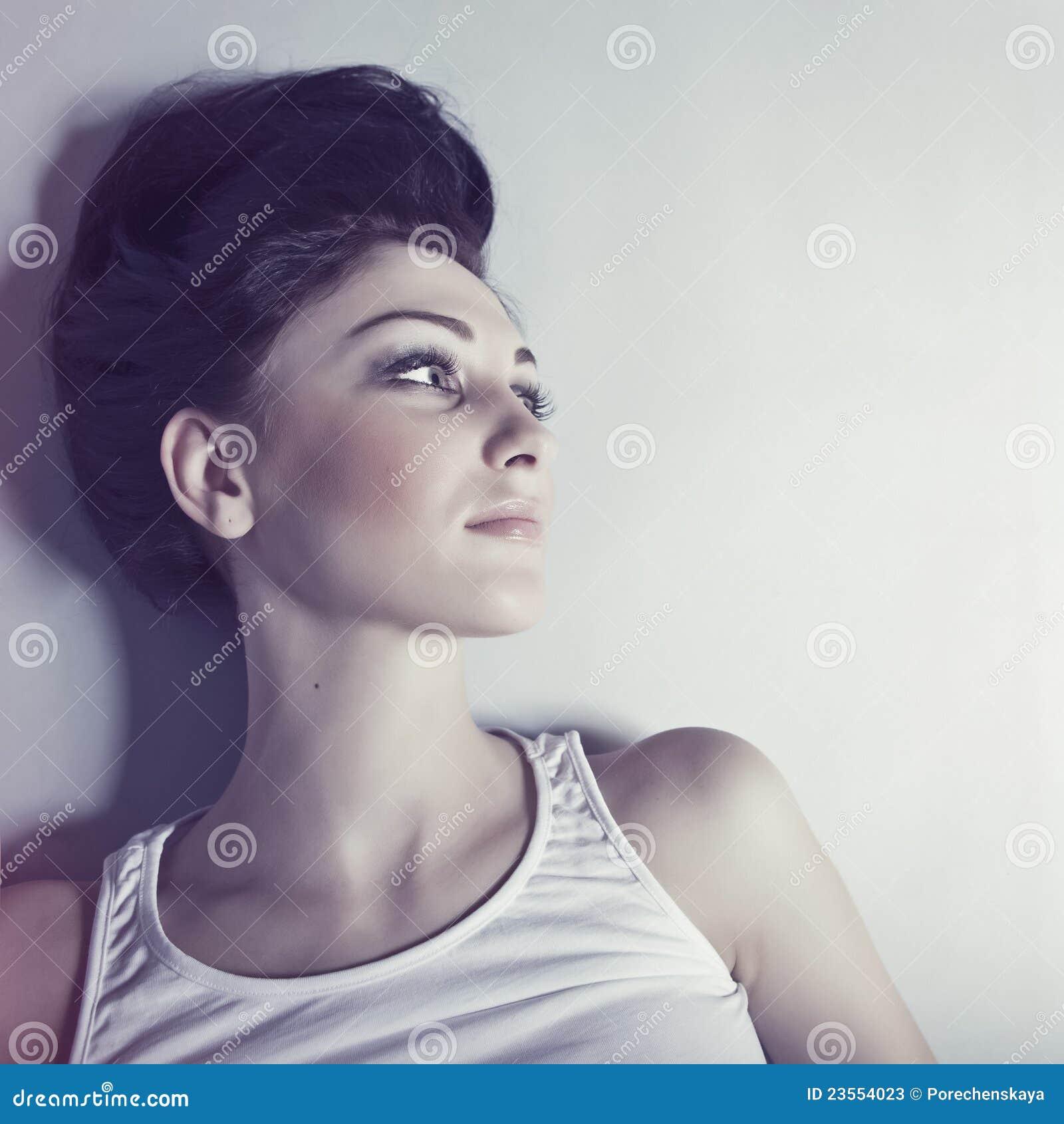 πρότυπη αισθησιακή γυναίκα