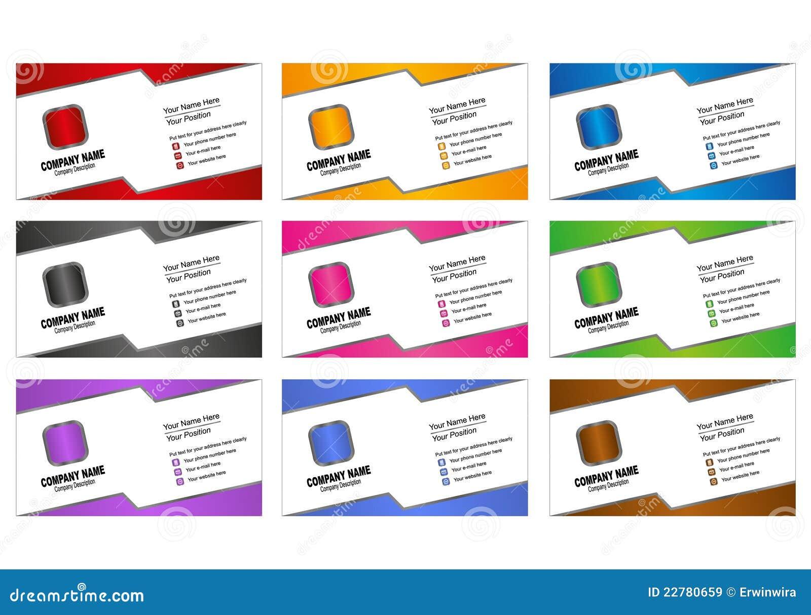 Πρότυπο επαγγελματικών καρτών