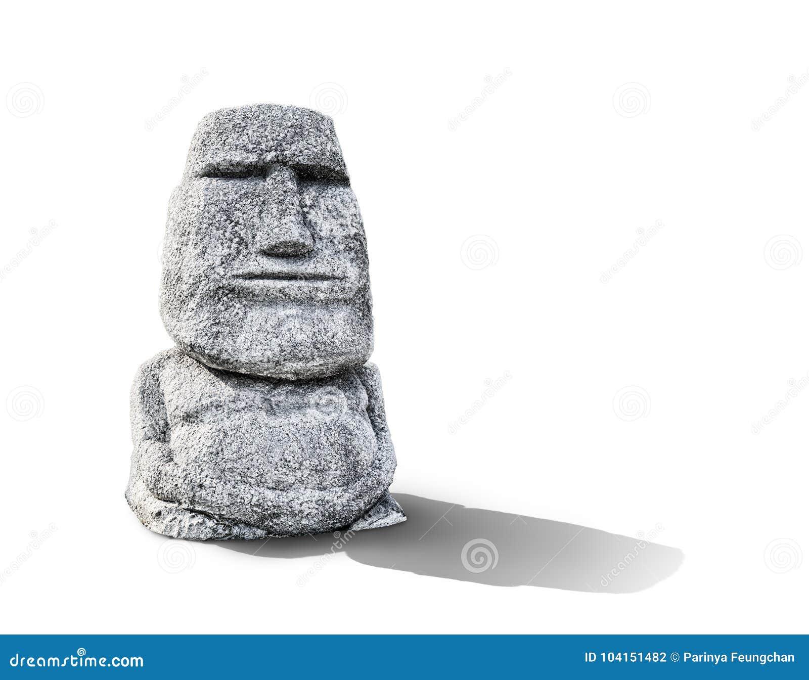 Πρότυπο επικεφαλής άγαλμα Moai αγαλμάτων αντιγράφου