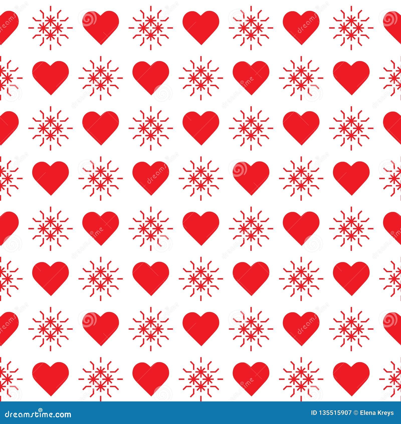 πρότυπο καρδιών άνευ ραφής θηλυκός βαλεντίνος τεσσάρων καρδιών s χεριών ημέρας κραγιονιών