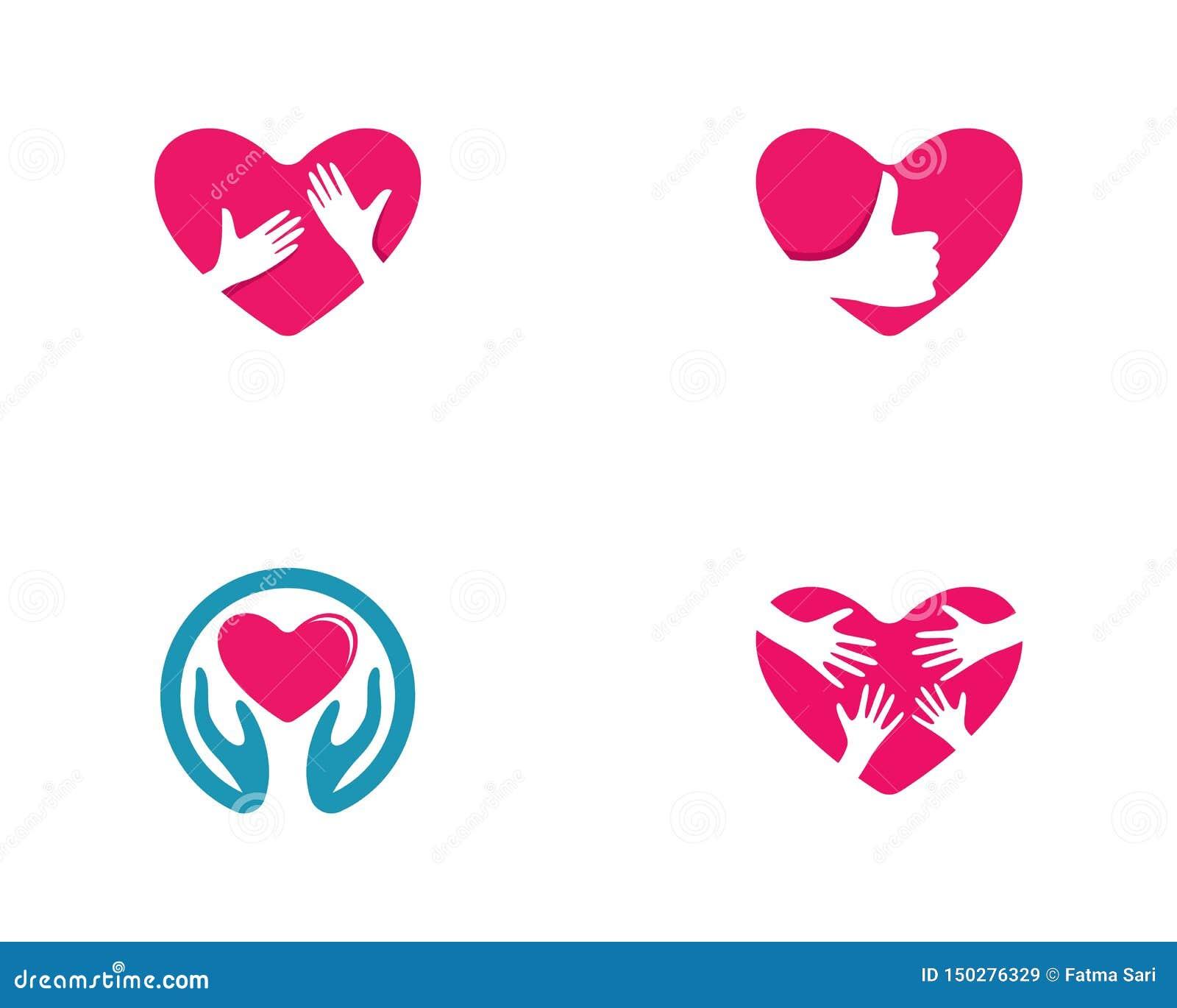 Πρότυπο λογότυπων αγάπης