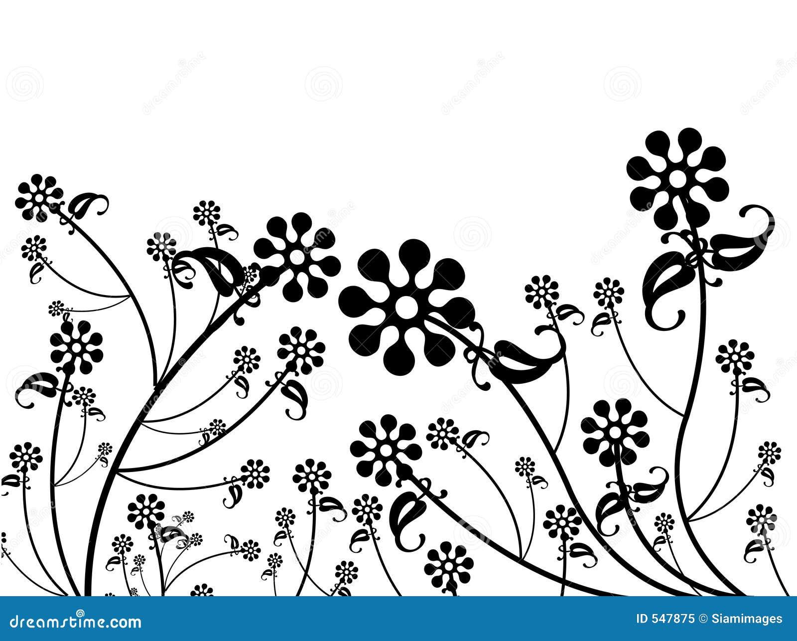 πρότυπο λουλουδιών σχεδίου
