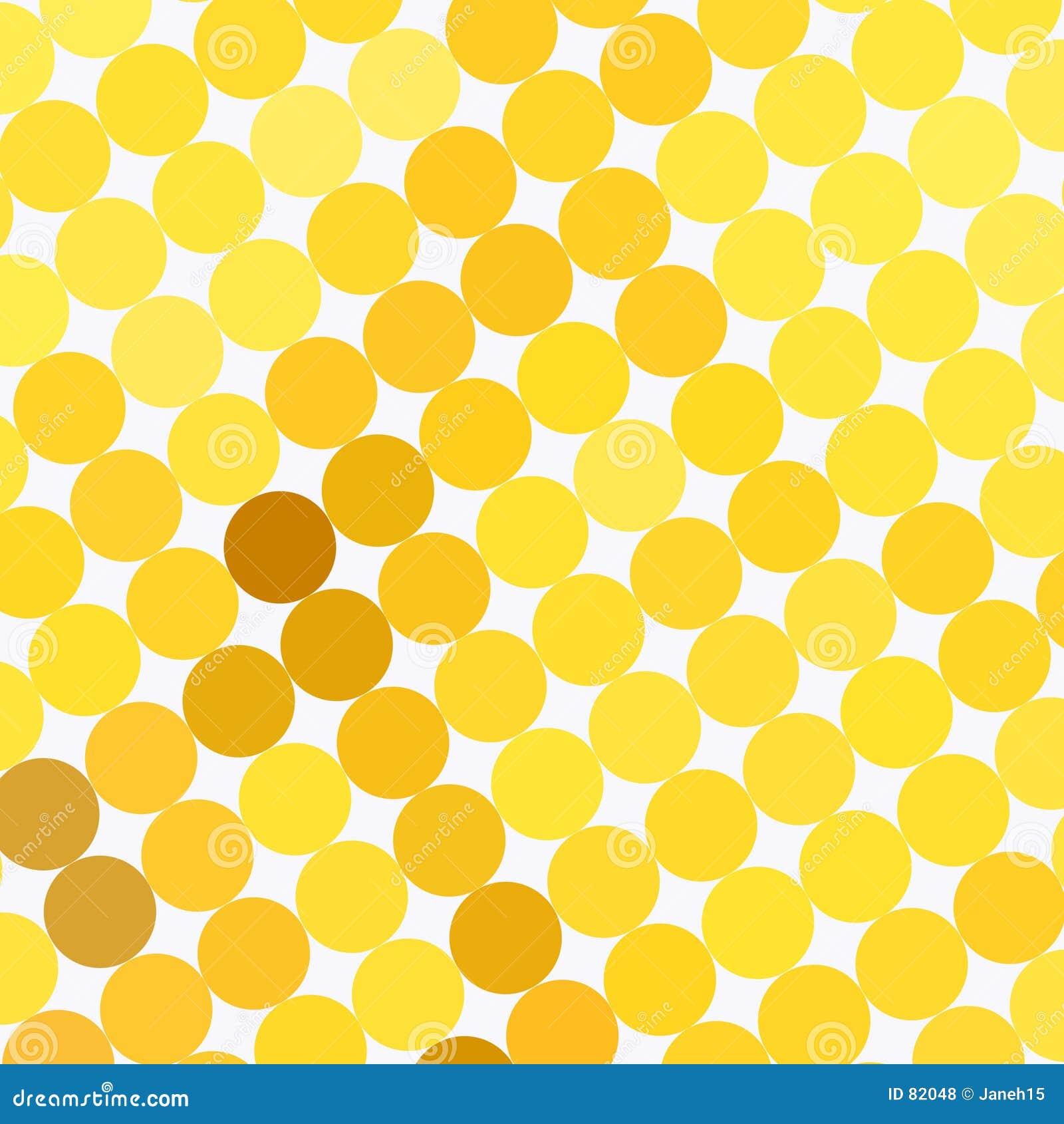 πρότυπο σημείων κίτρινο