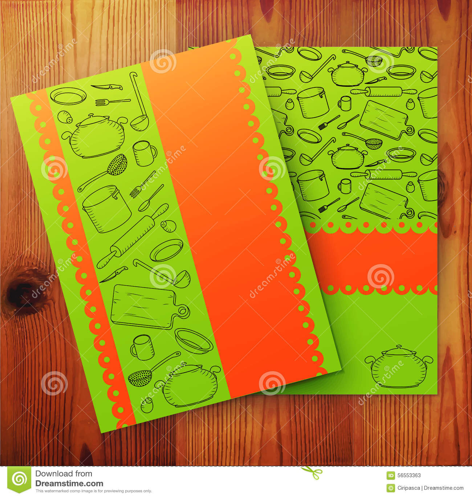 Download Πρότυπο της κάρτας μαγειρικής, μαγειρικό σχολικό έμβλημα Διανυσματική απεικόνιση - εικονογραφία από σπίτι, accidence: 56553363