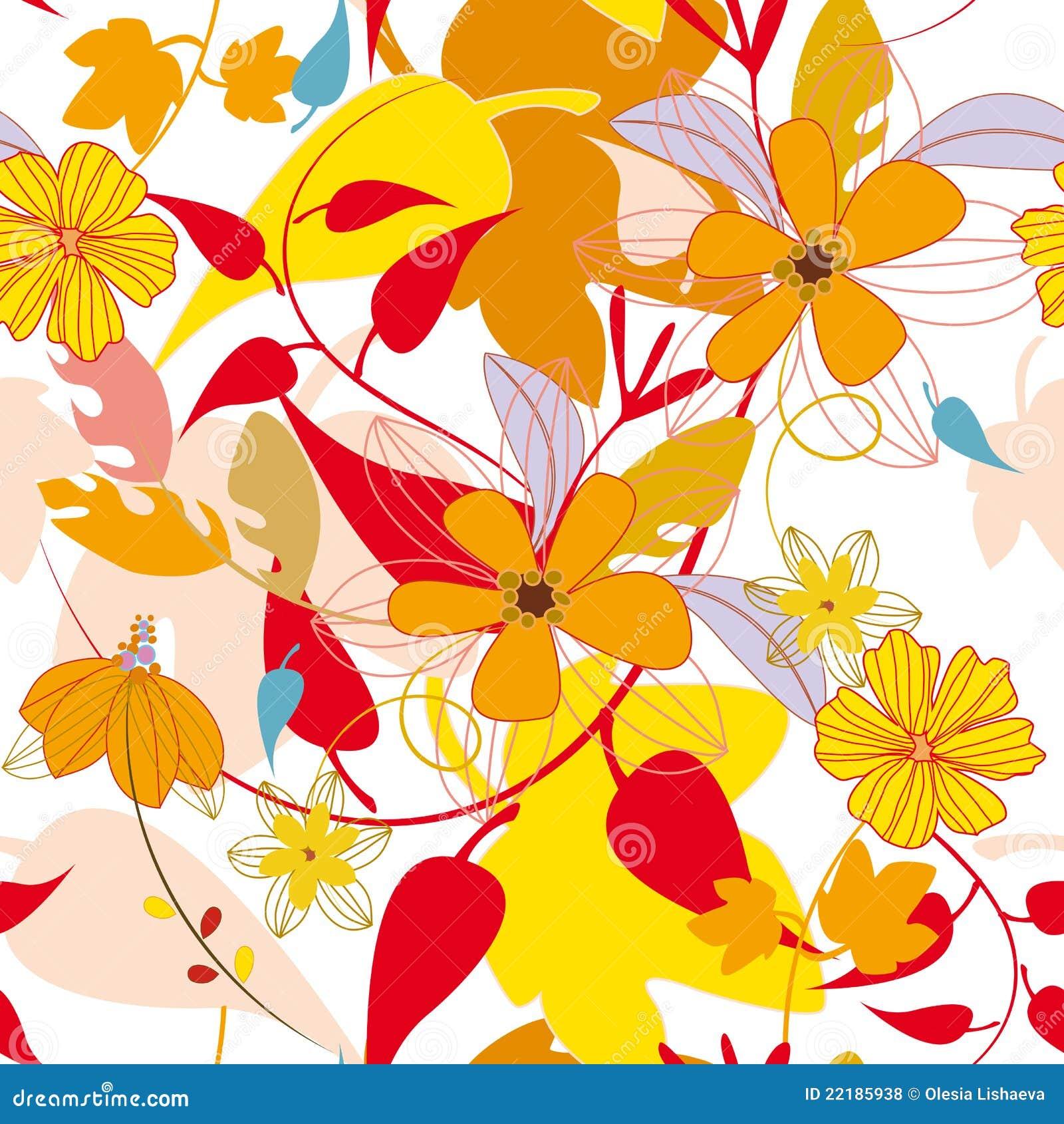 πρότυπο φύλλων φθινοπώρο&upsilon
