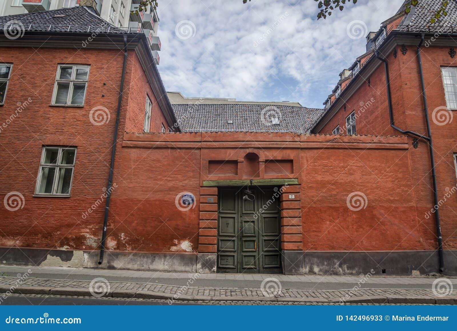 Πρώην κτήριο αιθουσών πόλεων από το 17ο αιώνα, Όσλο, Νορβηγία