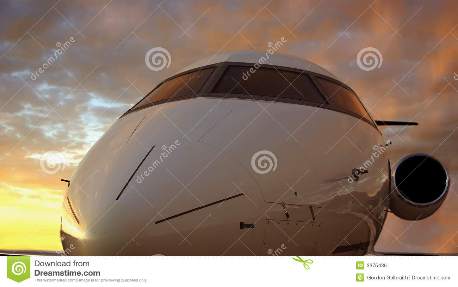 πτήση βραδιού