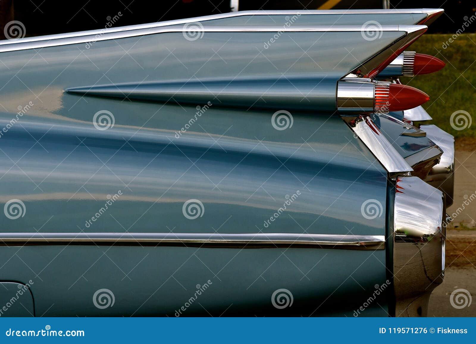 Πτερύγια ενός παλαιού Cadillac