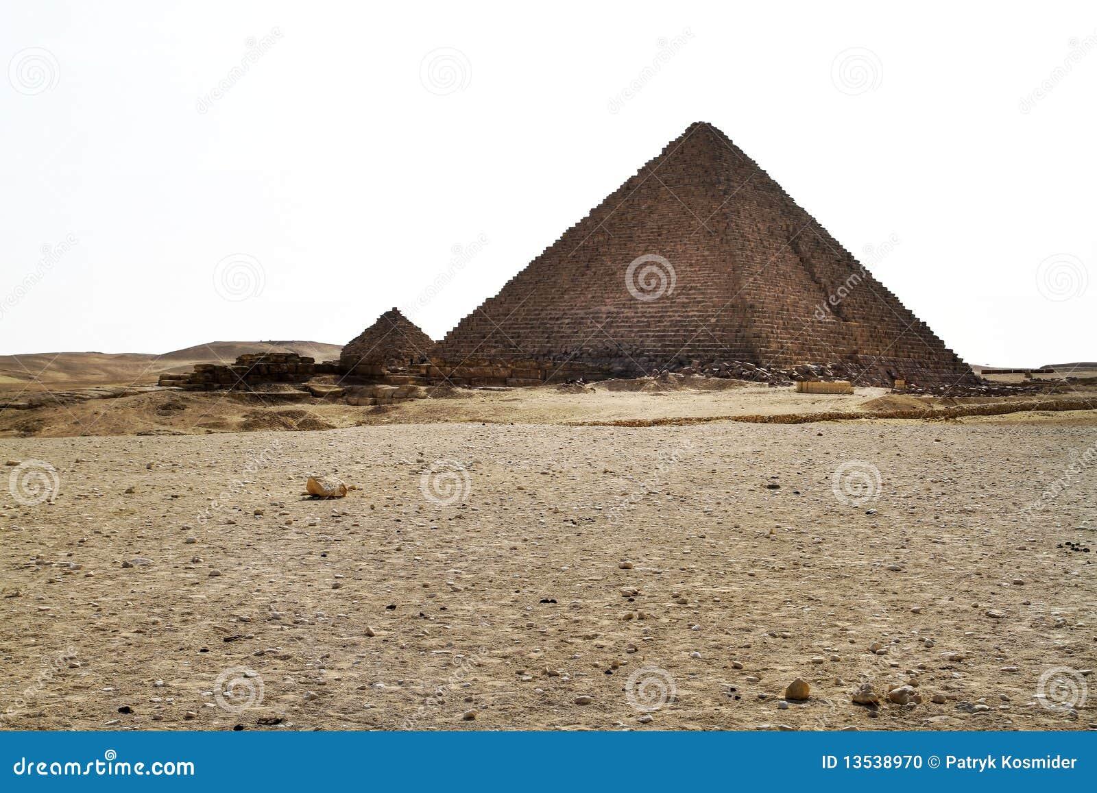 πυραμίδα menkaure giza της Αιγύπτου